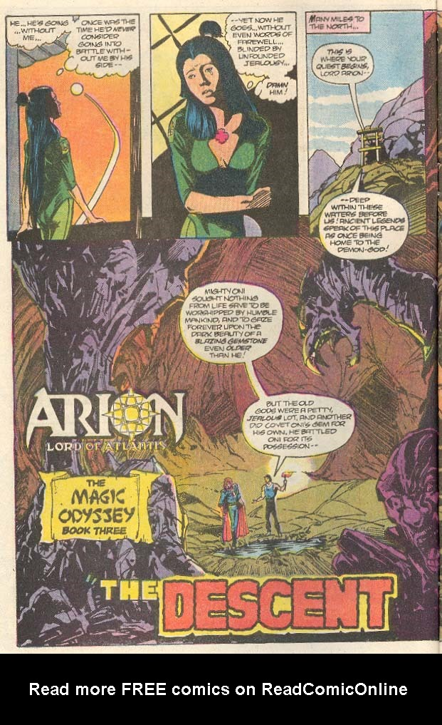 Read online Arion, Lord of Atlantis comic -  Issue #32 - 3