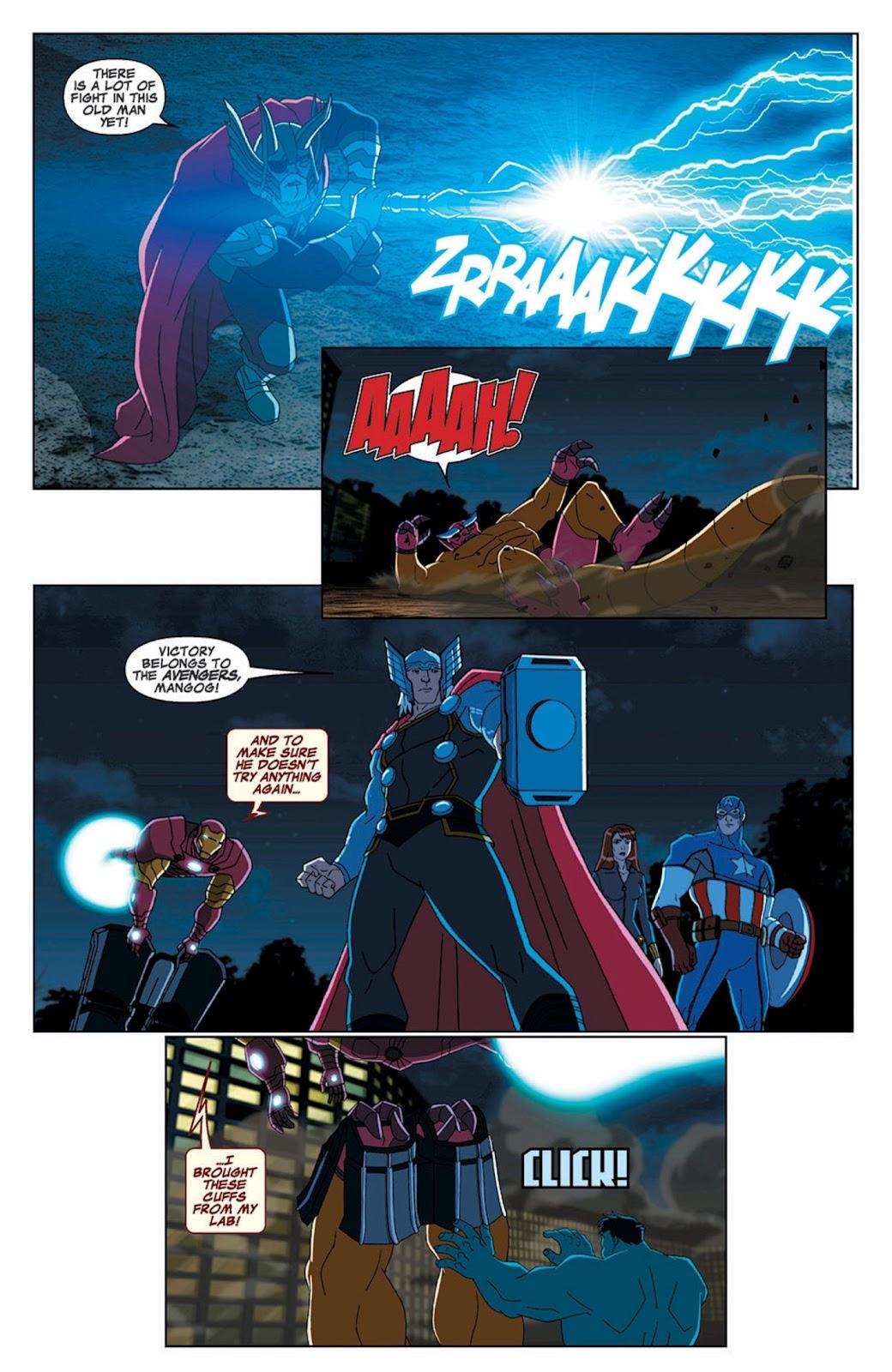 Read online Marvel Universe Avengers Assemble Season 2 comic -  Issue #7 - 28