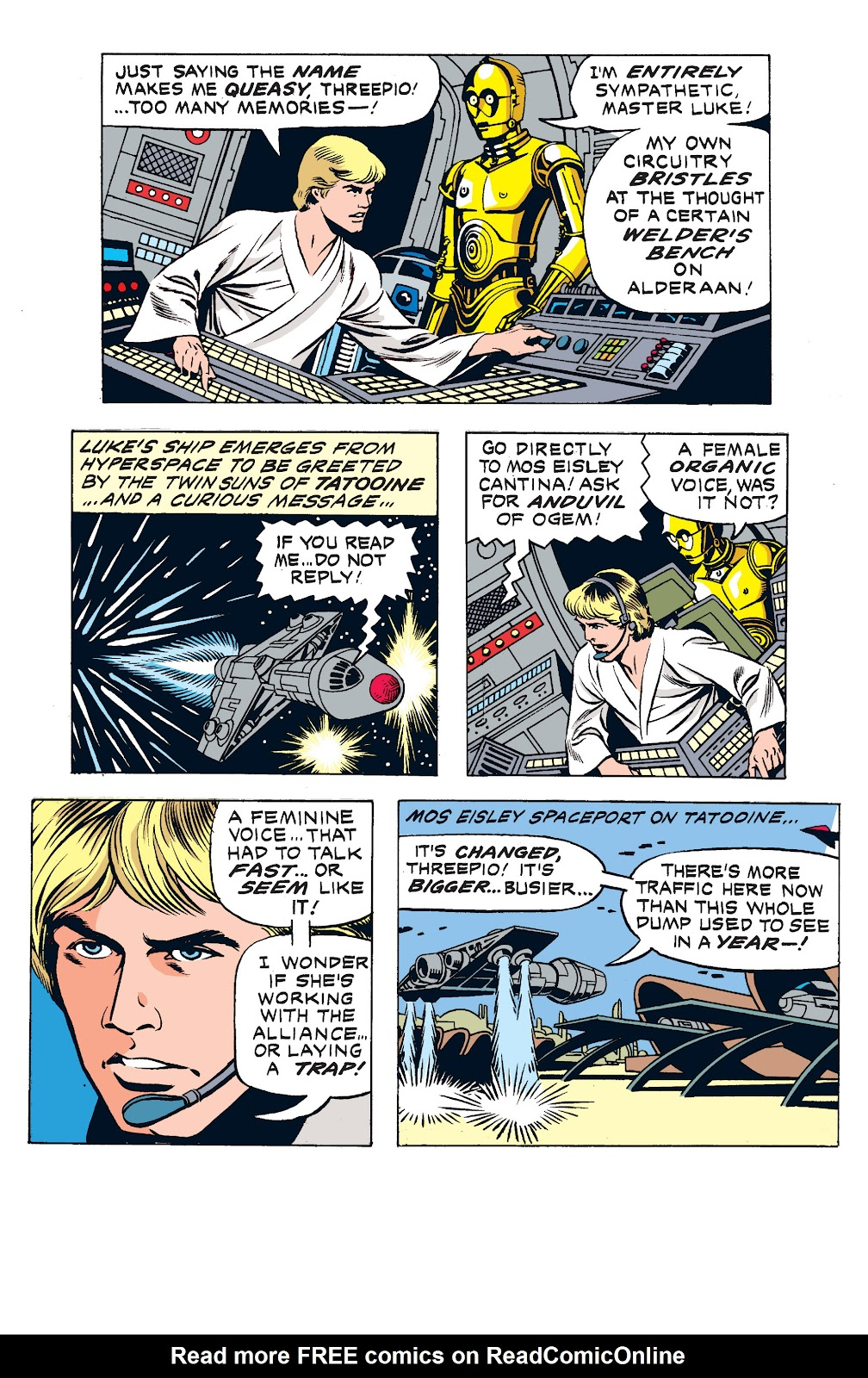 Read online Star Wars Legends: The Newspaper Strips - Epic Collection comic -  Issue # TPB (Part 2) - 25