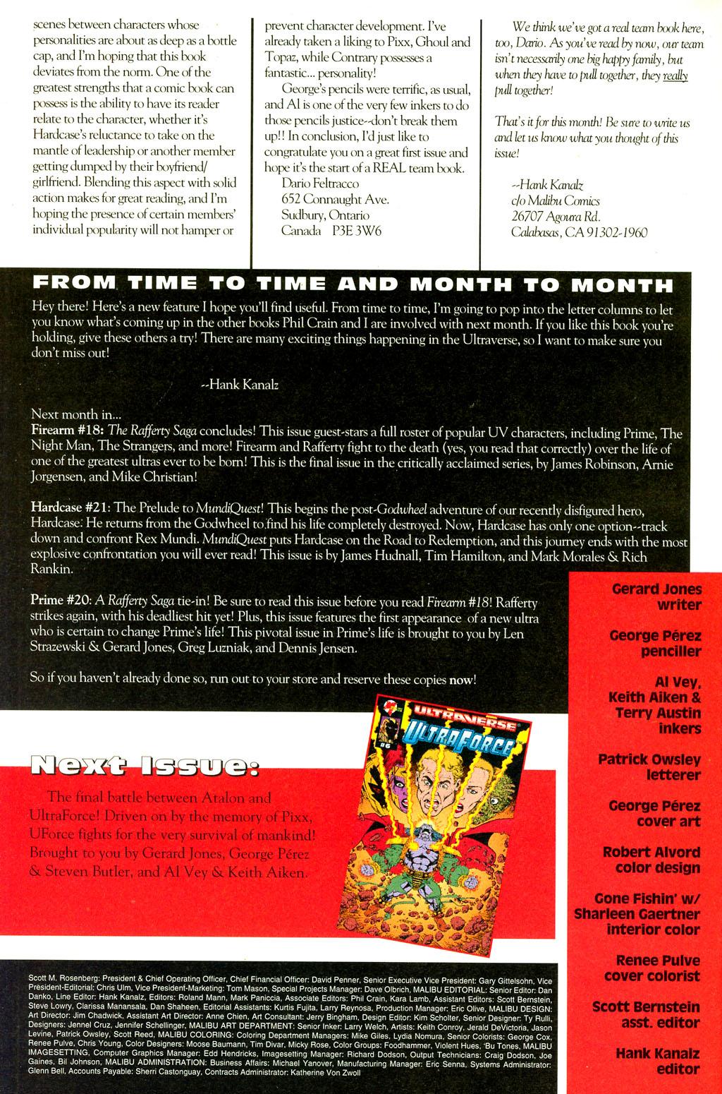 Read online UltraForce (1994) comic -  Issue #5 - 27