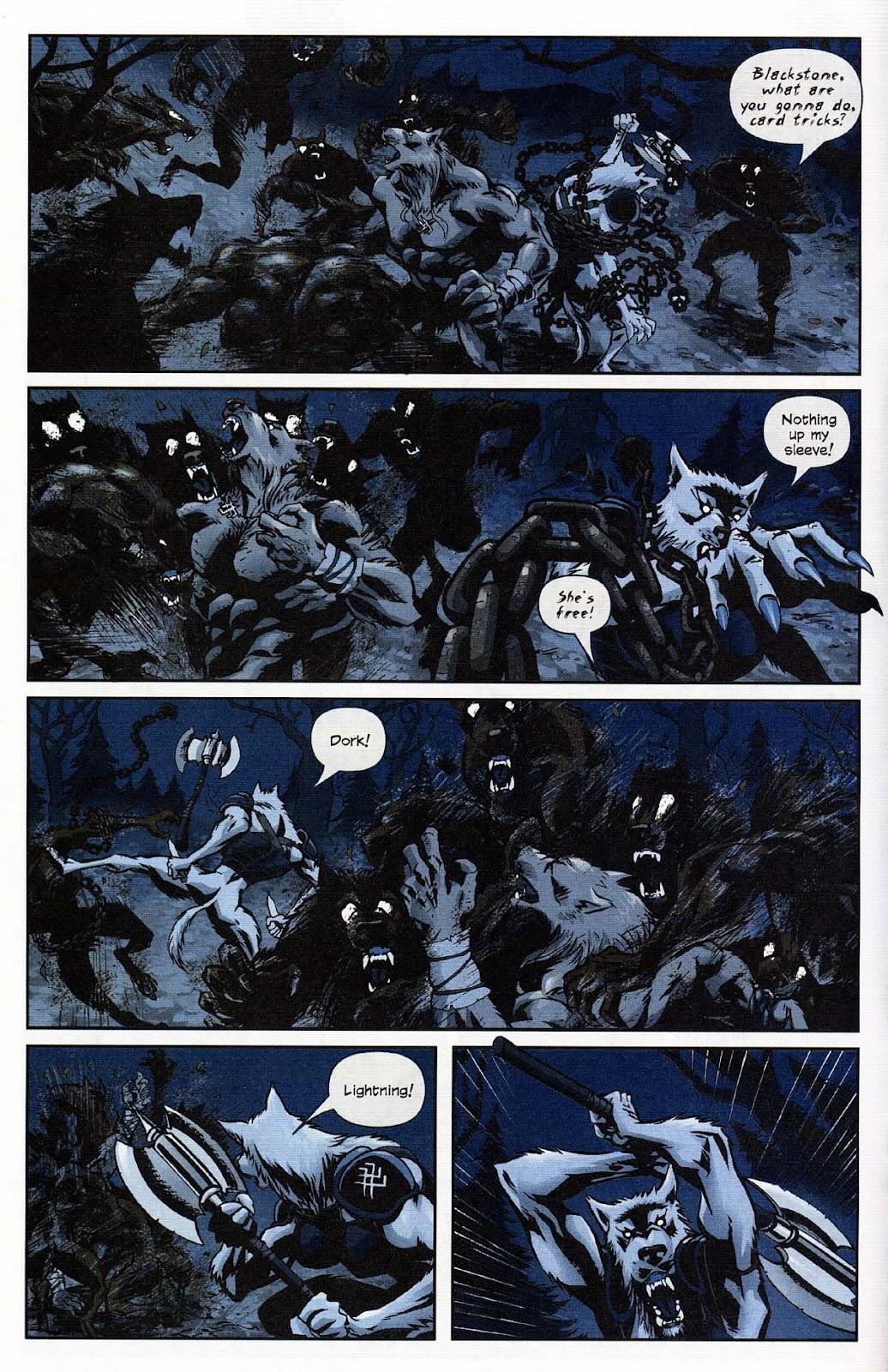 Read online Werewolf the Apocalypse comic -  Issue # Get of Fenris - 18