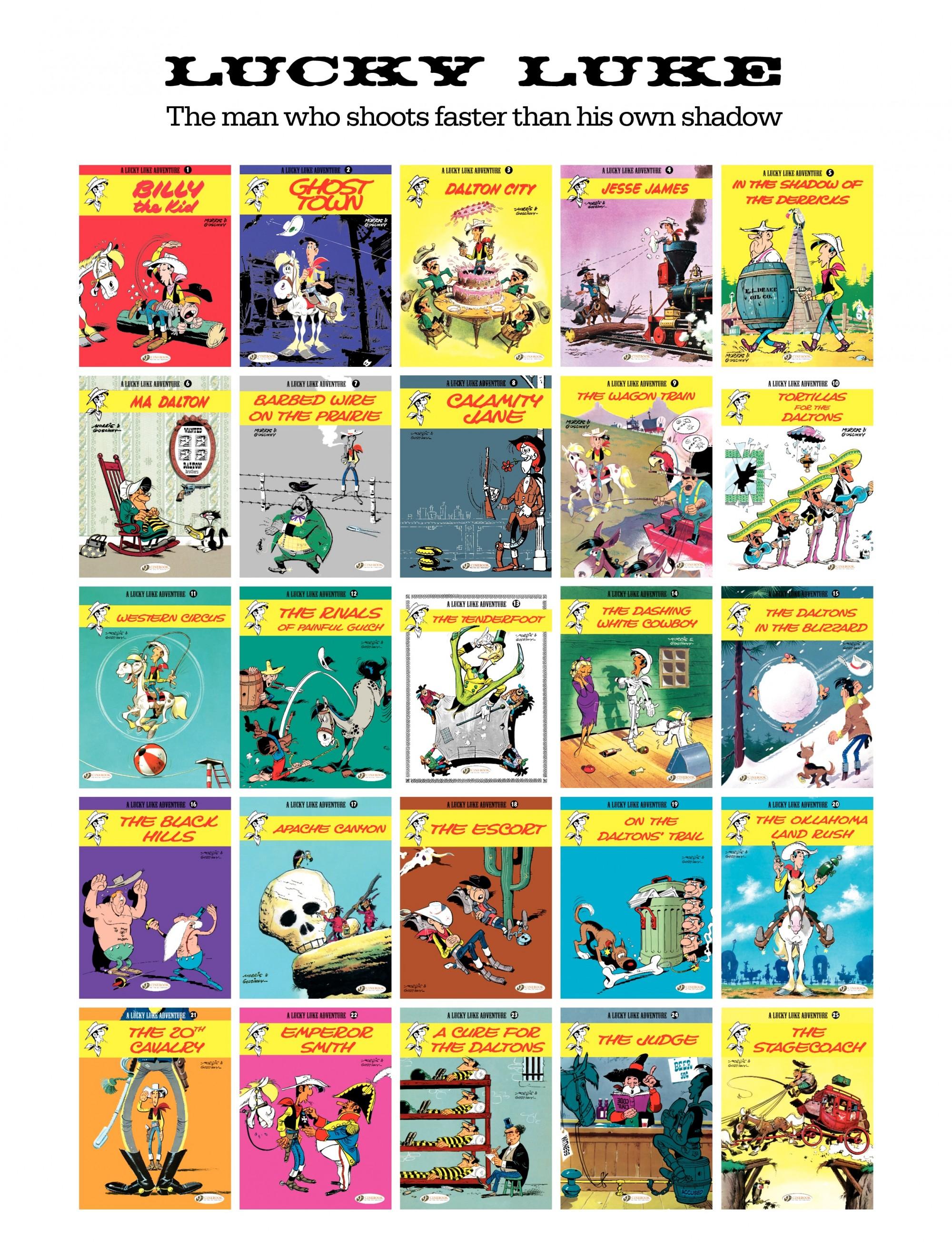 Read online A Lucky Luke Adventure comic -  Issue #33 - 47