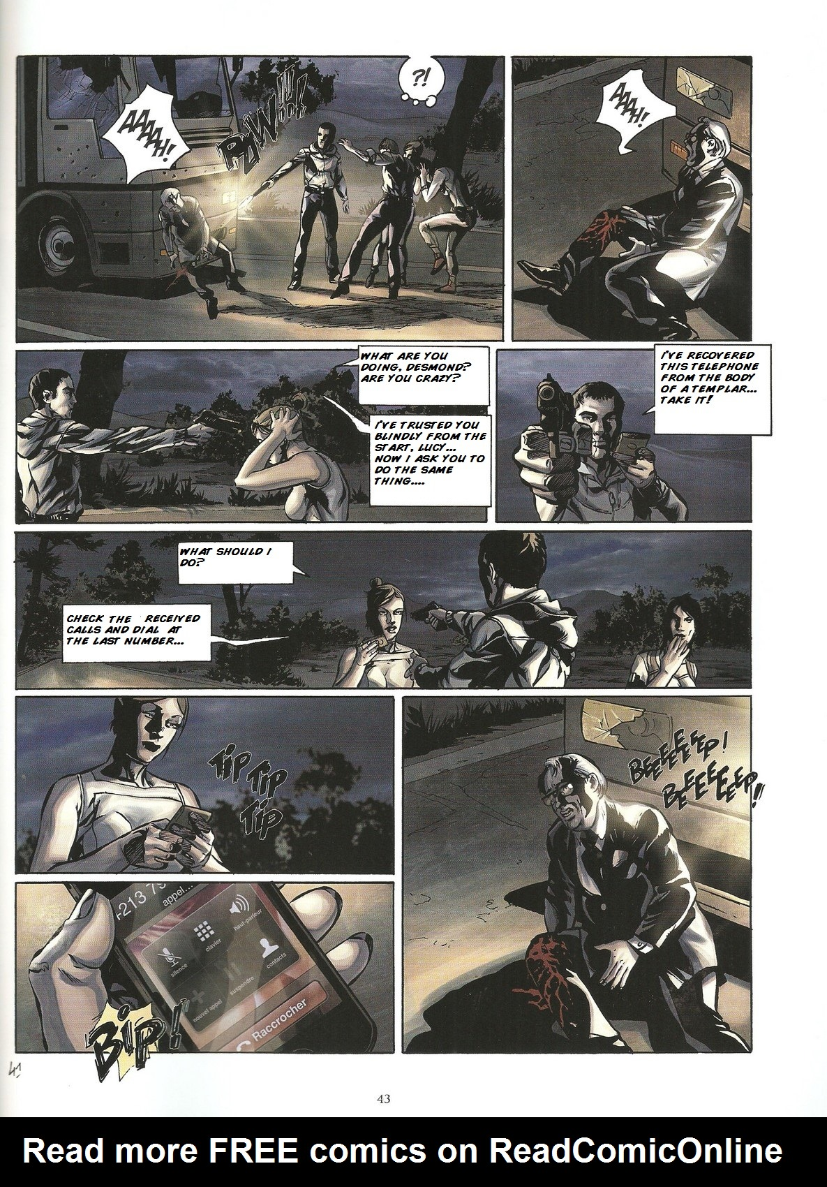 Read online Assassin's Creed (2009) comic -  Issue #2 - 43