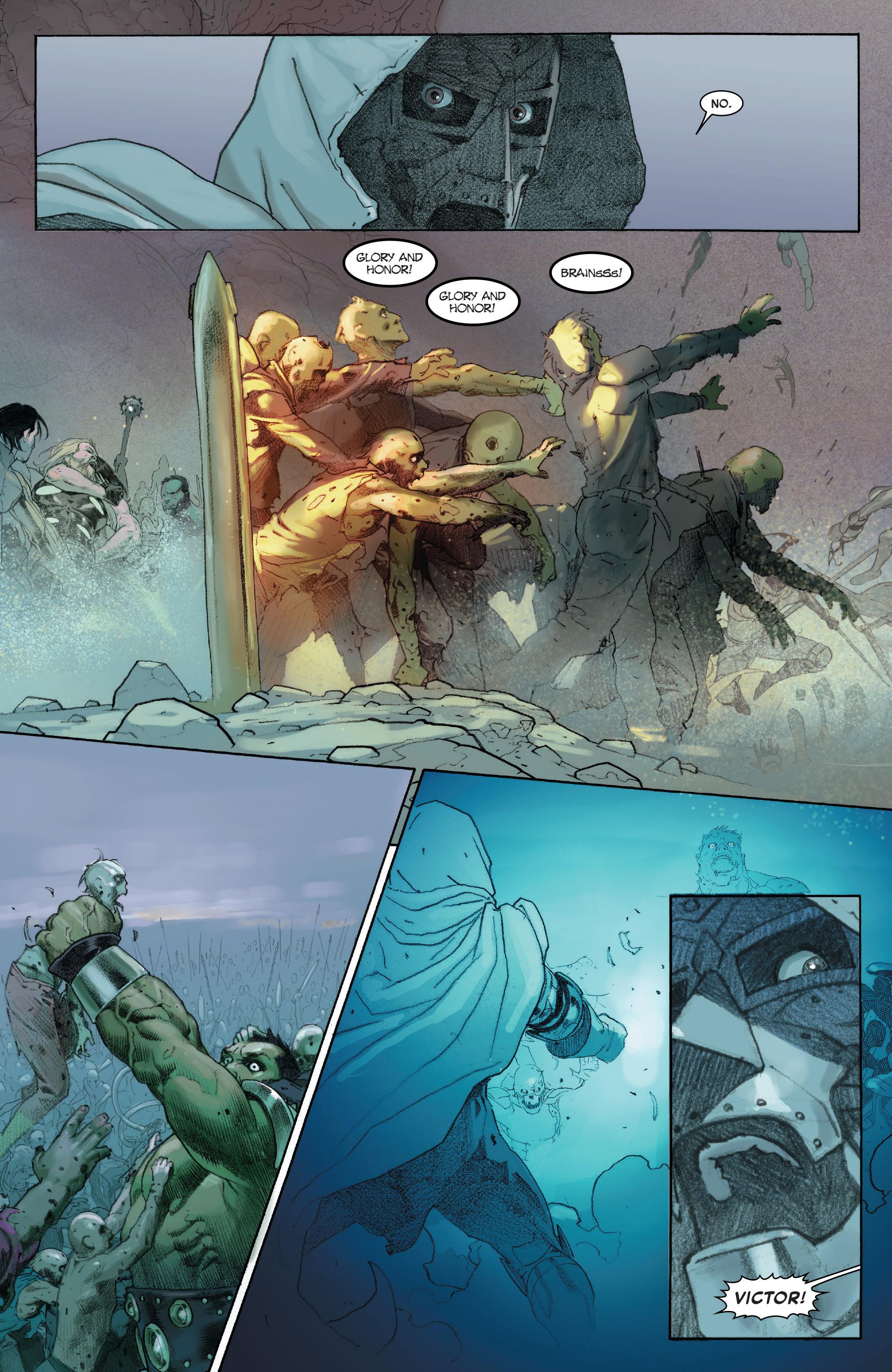 Read online Secret Wars comic -  Issue #8 - 24