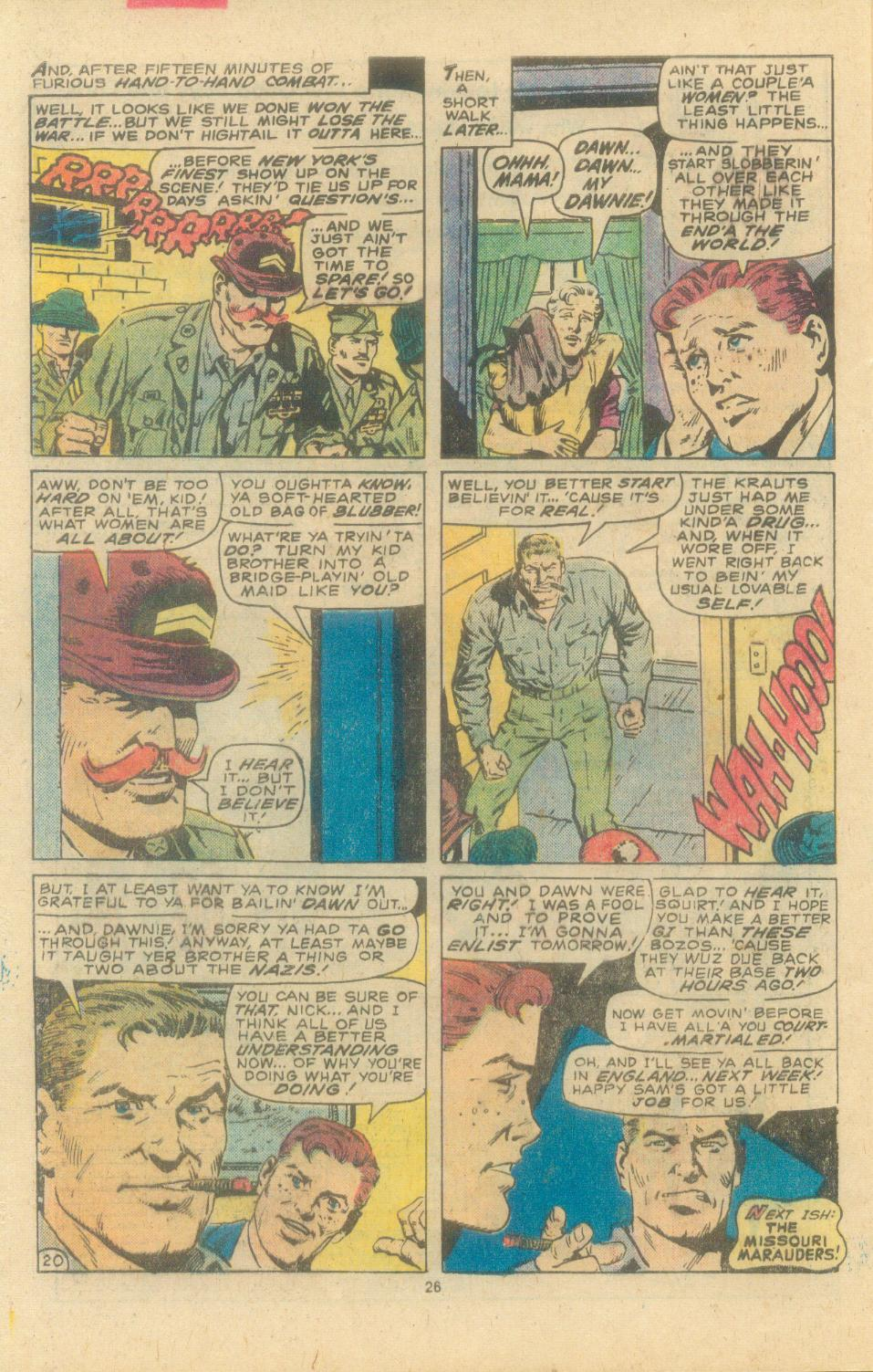 Read online Sgt. Fury comic -  Issue #163 - 28