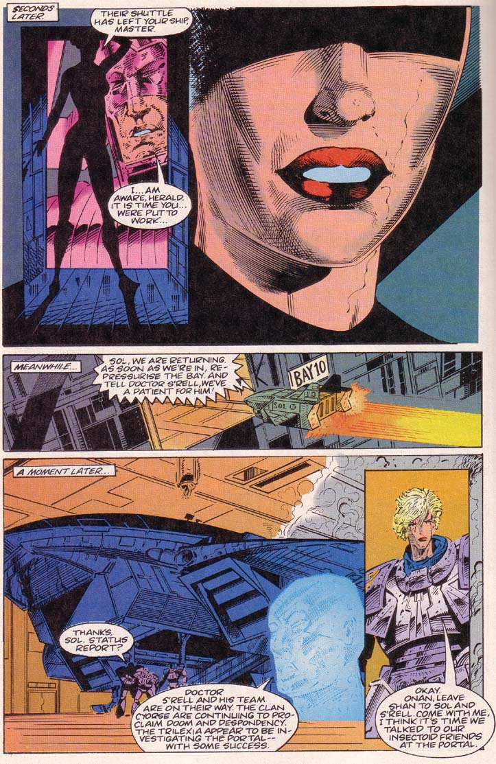 Read online Cyberspace 3000 comic -  Issue #2 - 11