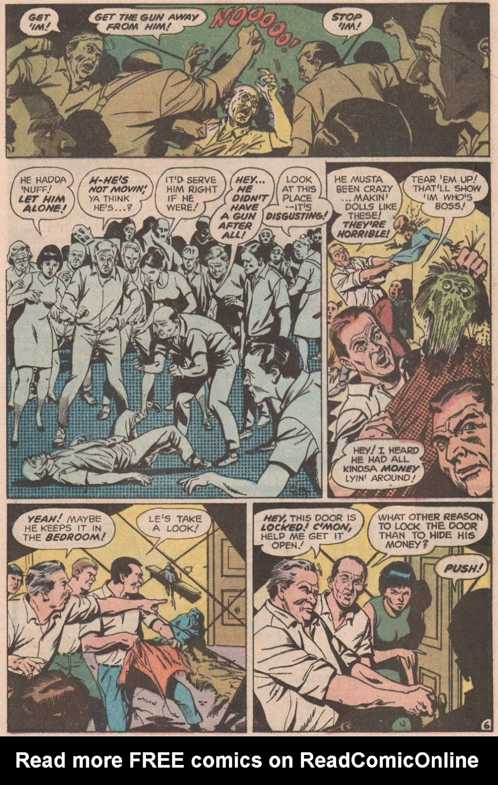 The Witching Hour (1969) issue 6 - Page 16
