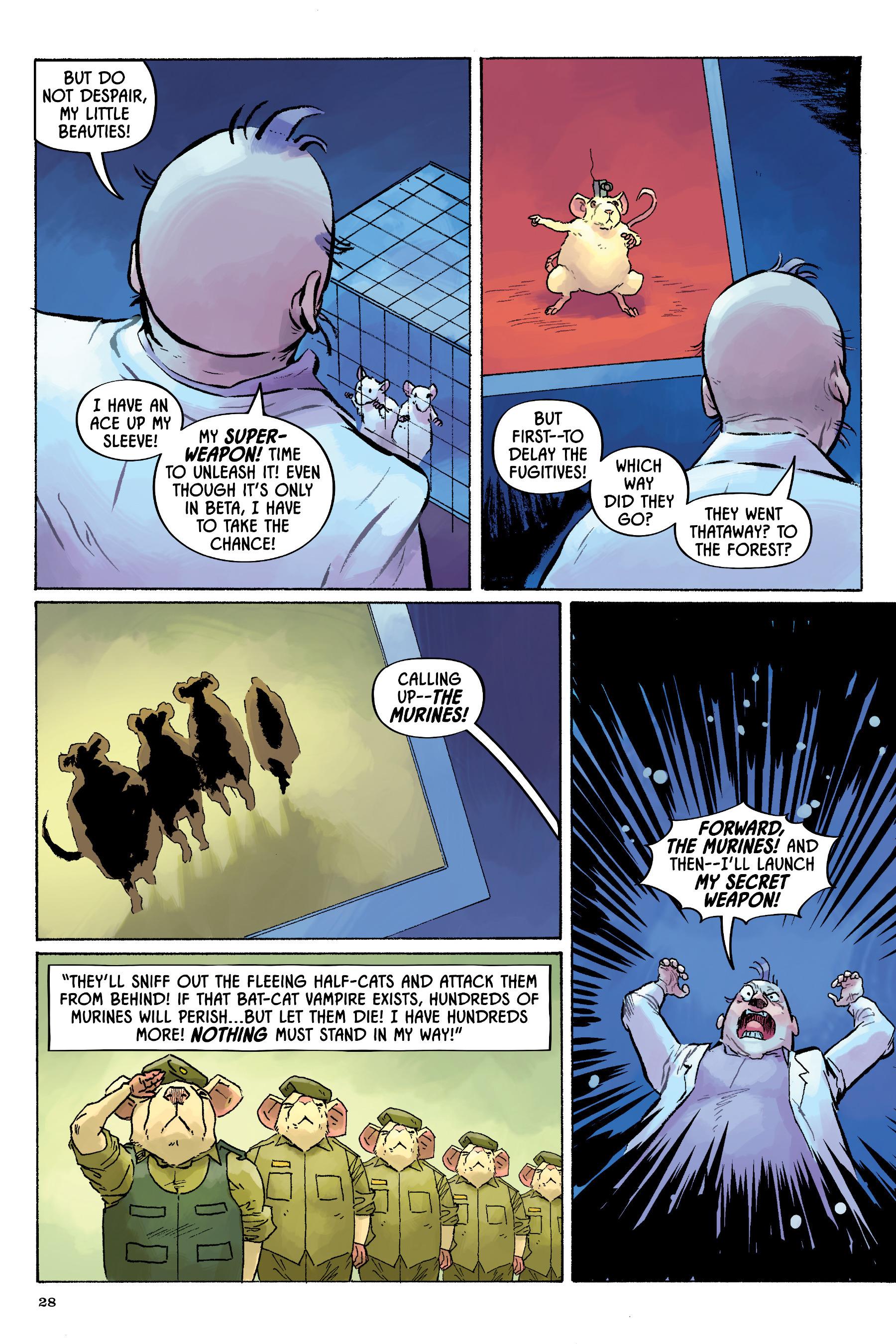 Read online Angel Catbird comic -  Issue # TPB 2 - 29