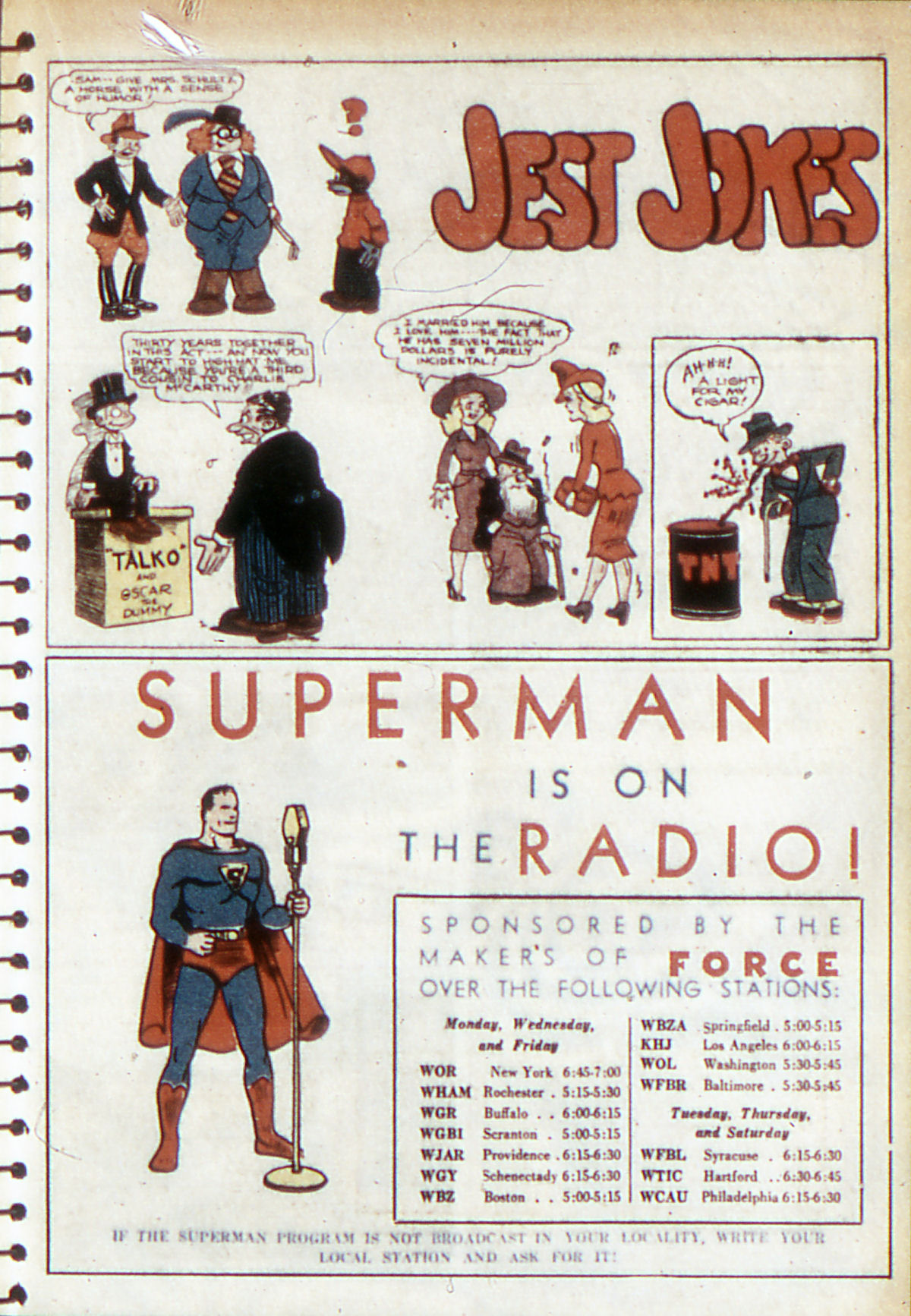 Read online Adventure Comics (1938) comic -  Issue #53 - 34