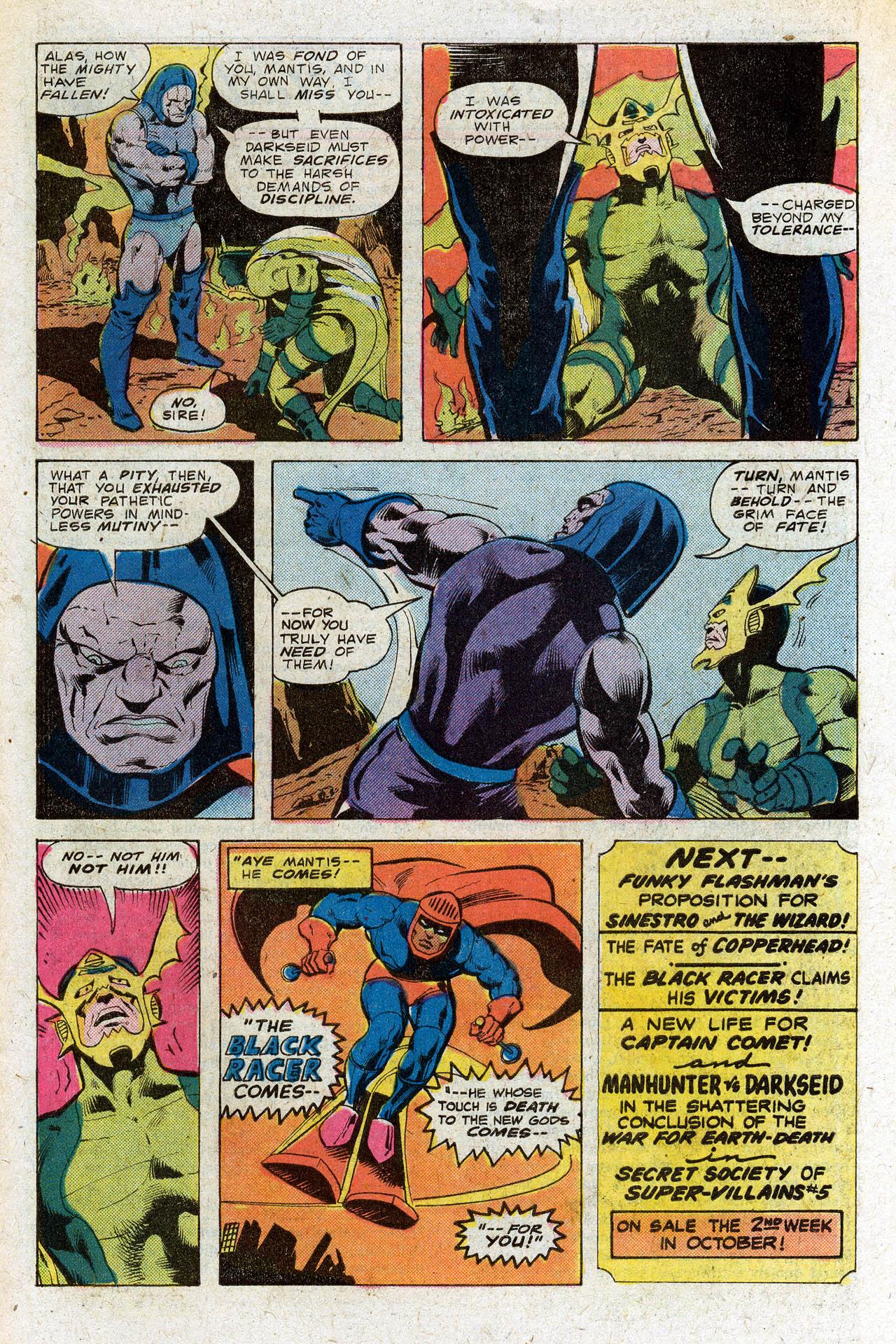 Read online Secret Society of Super-Villains comic -  Issue #4 - 30