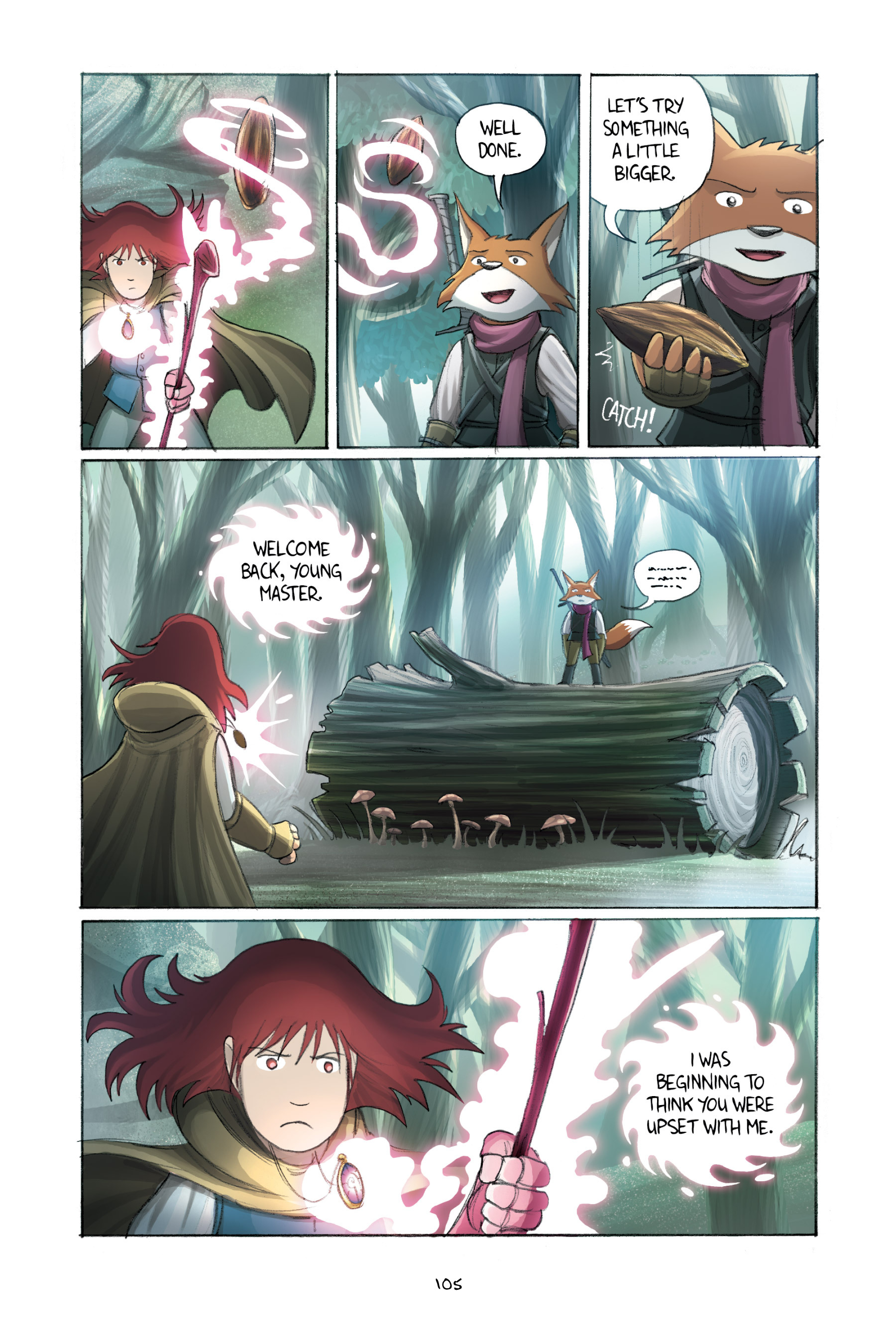 Read online Amulet comic -  Issue #2 - 105
