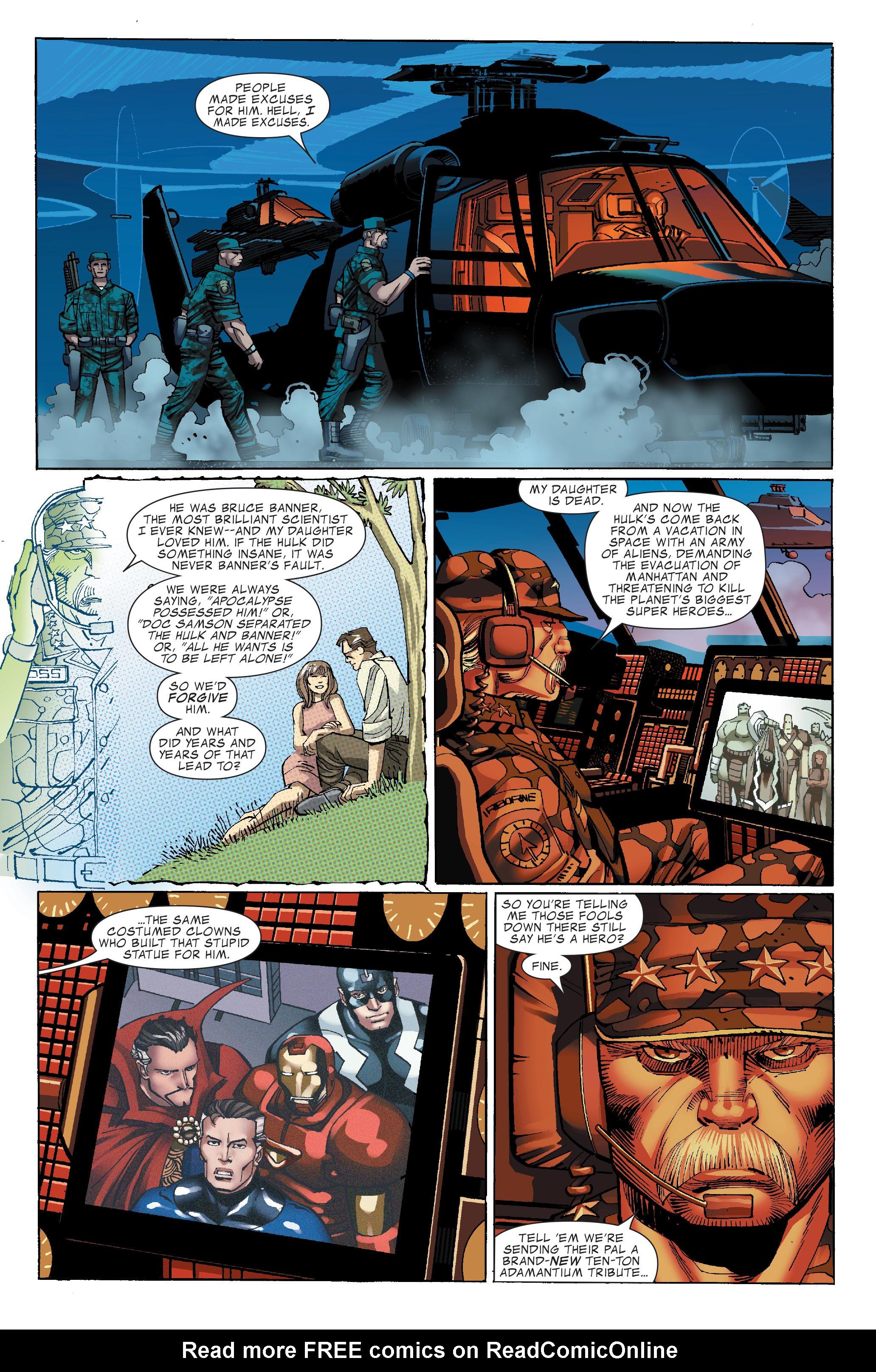 Read online World War Hulk comic -  Issue #3 - 5