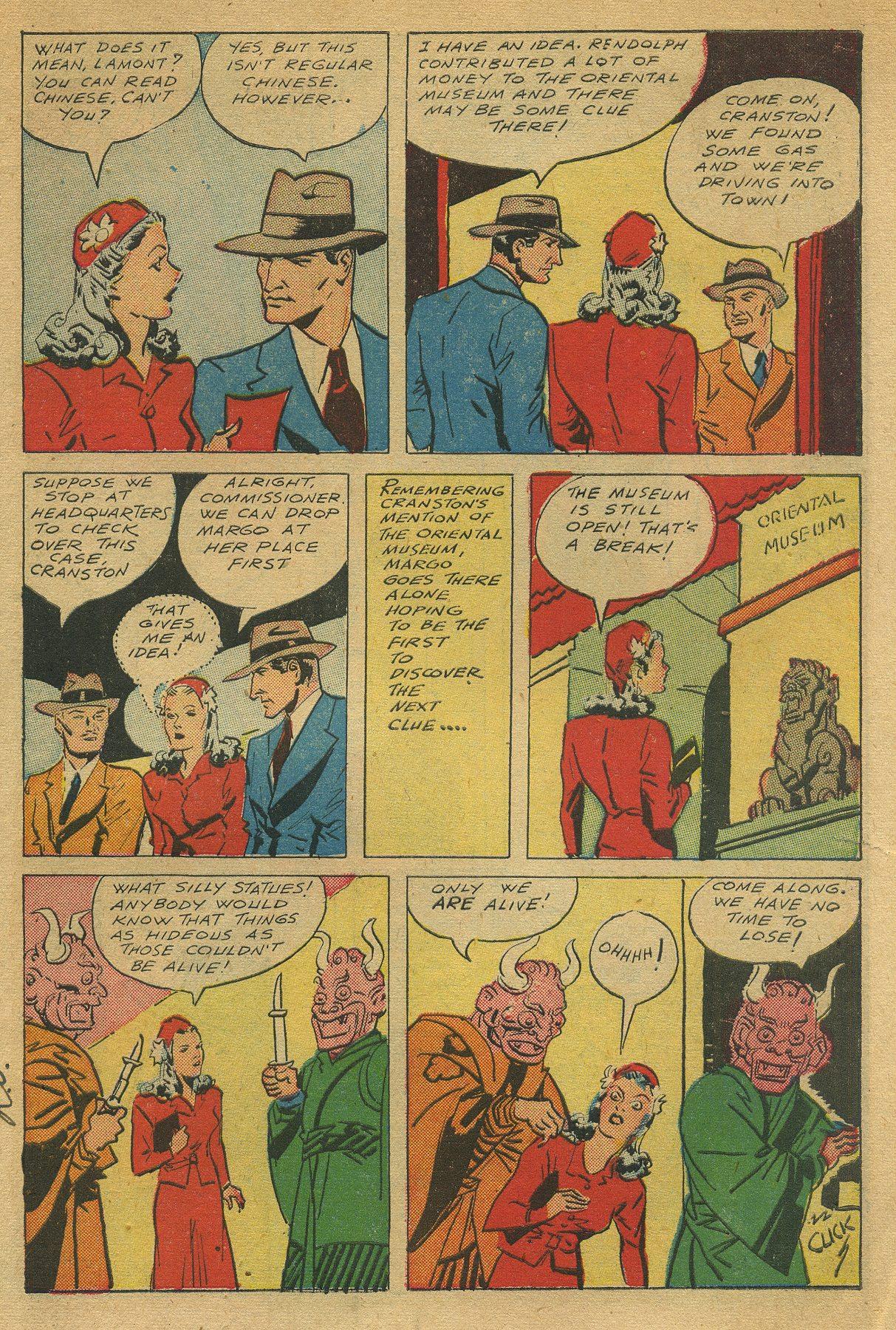 Read online Shadow Comics comic -  Issue #49 - 7
