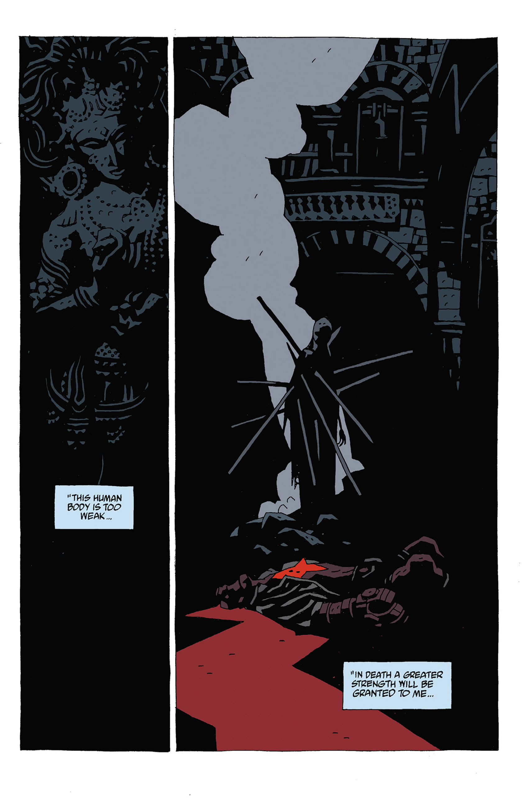 Read online Hellboy: Strange Places comic -  Issue # TPB - 93