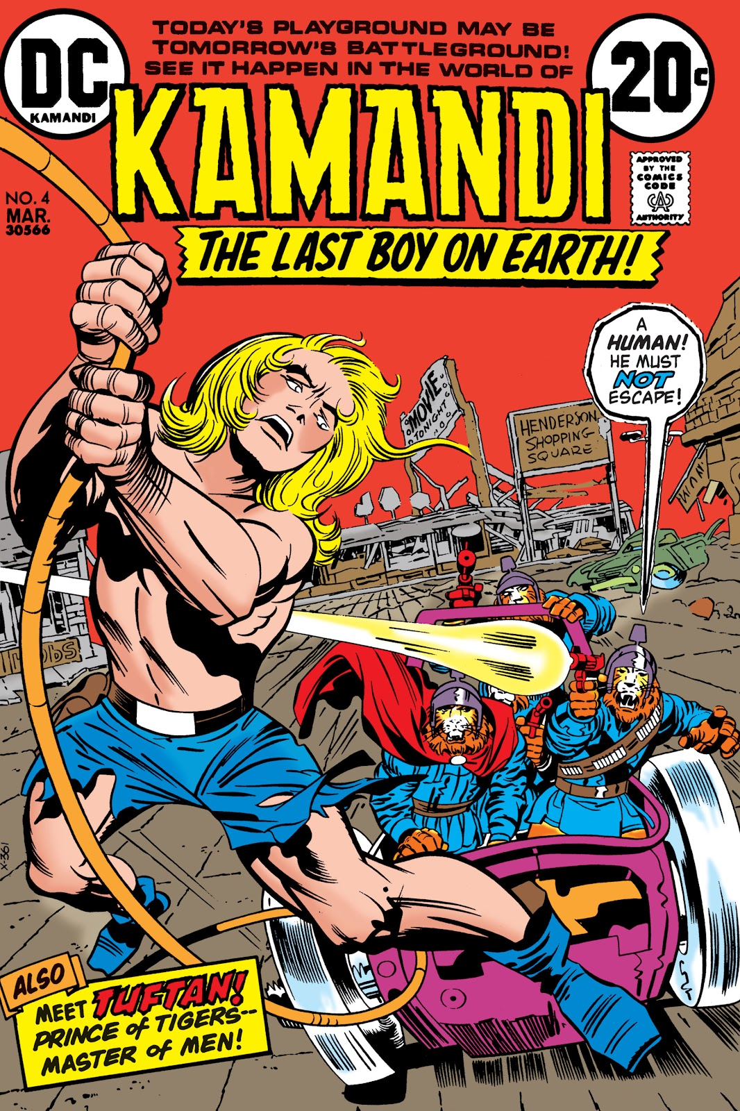 Kamandi, The Last Boy On Earth issue 4 - Page 1