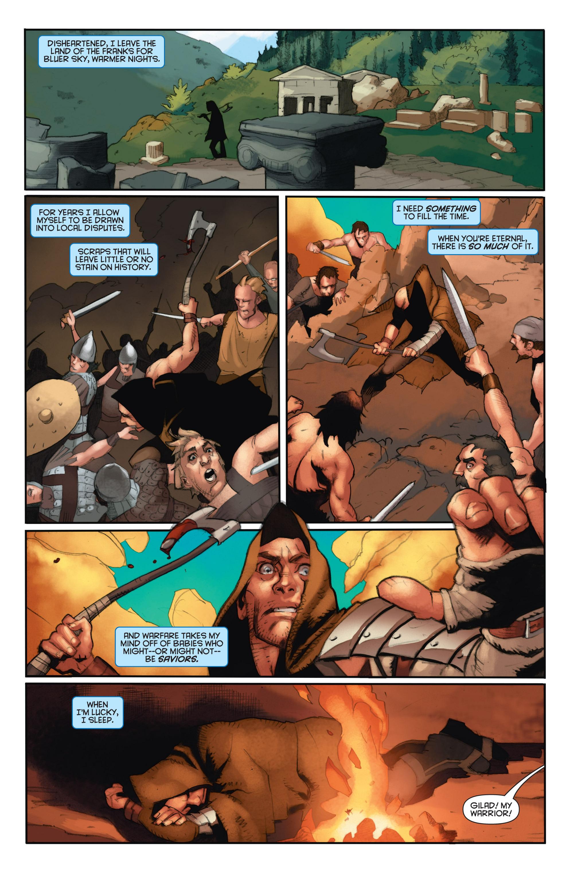 Read online Eternal Warrior: Days of Steel comic -  Issue #2 - 17