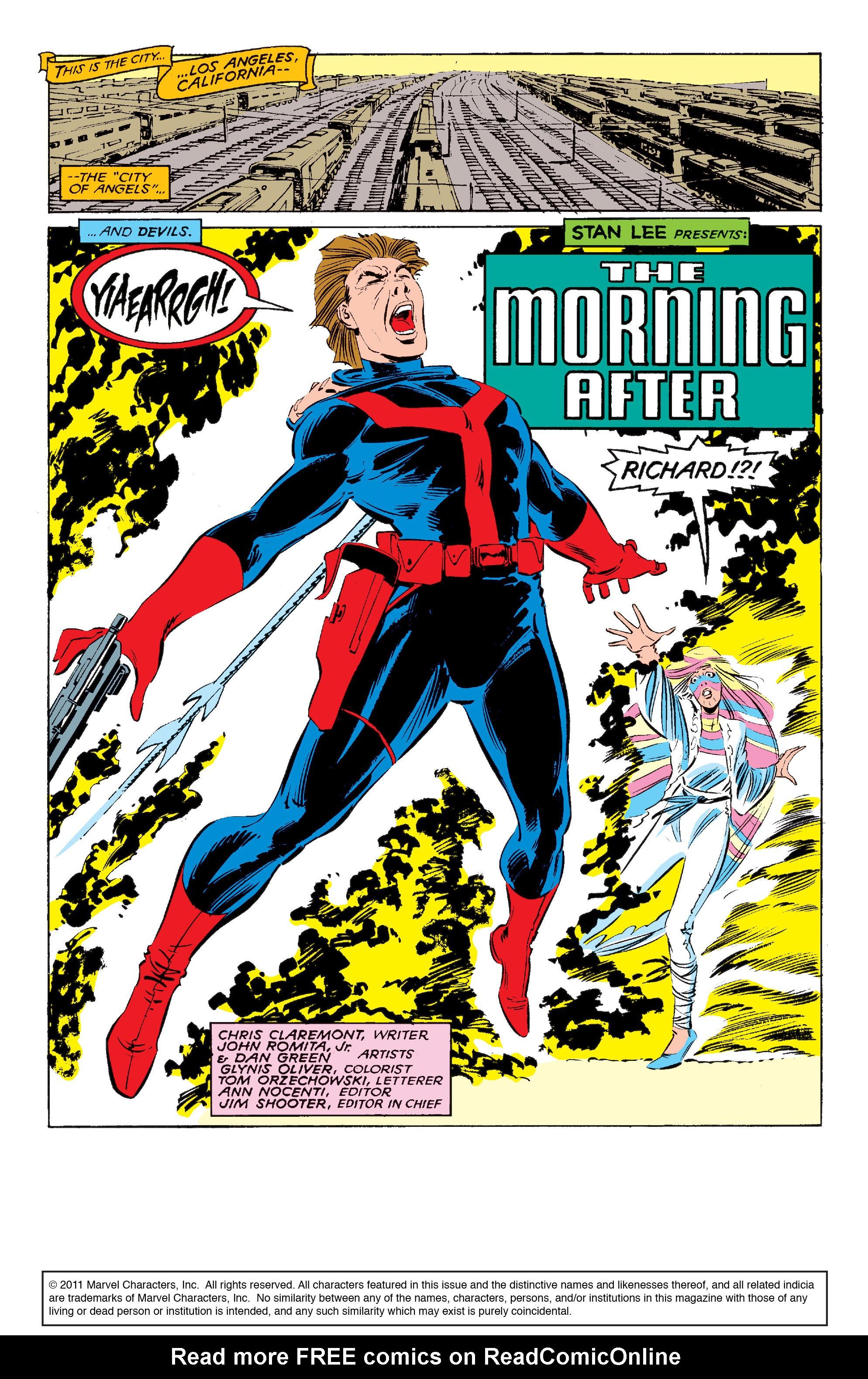 Read online Uncanny X-Men (1963) comic -  Issue #210 - 2