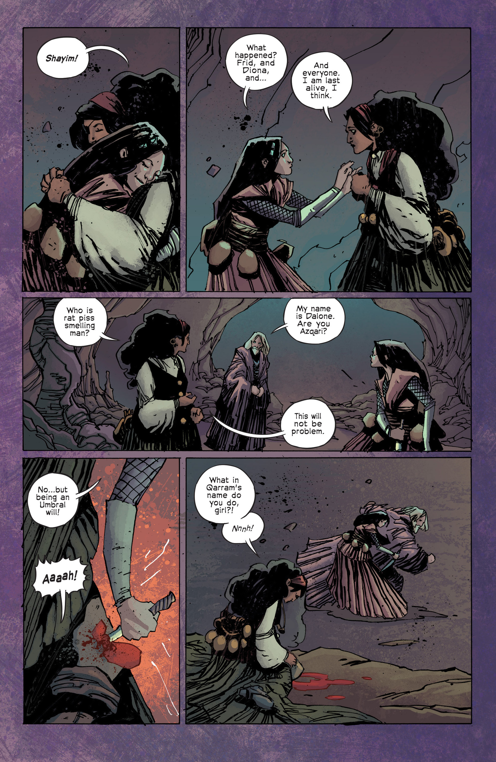 Read online Umbral comic -  Issue #3 - 17