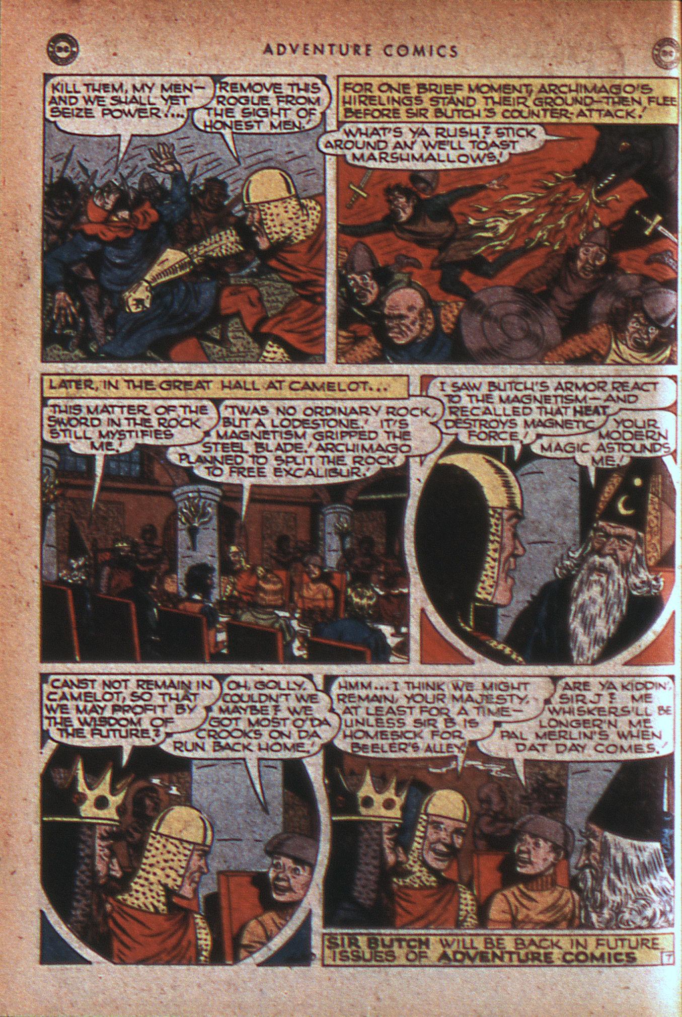 Read online Adventure Comics (1938) comic -  Issue #124 - 21