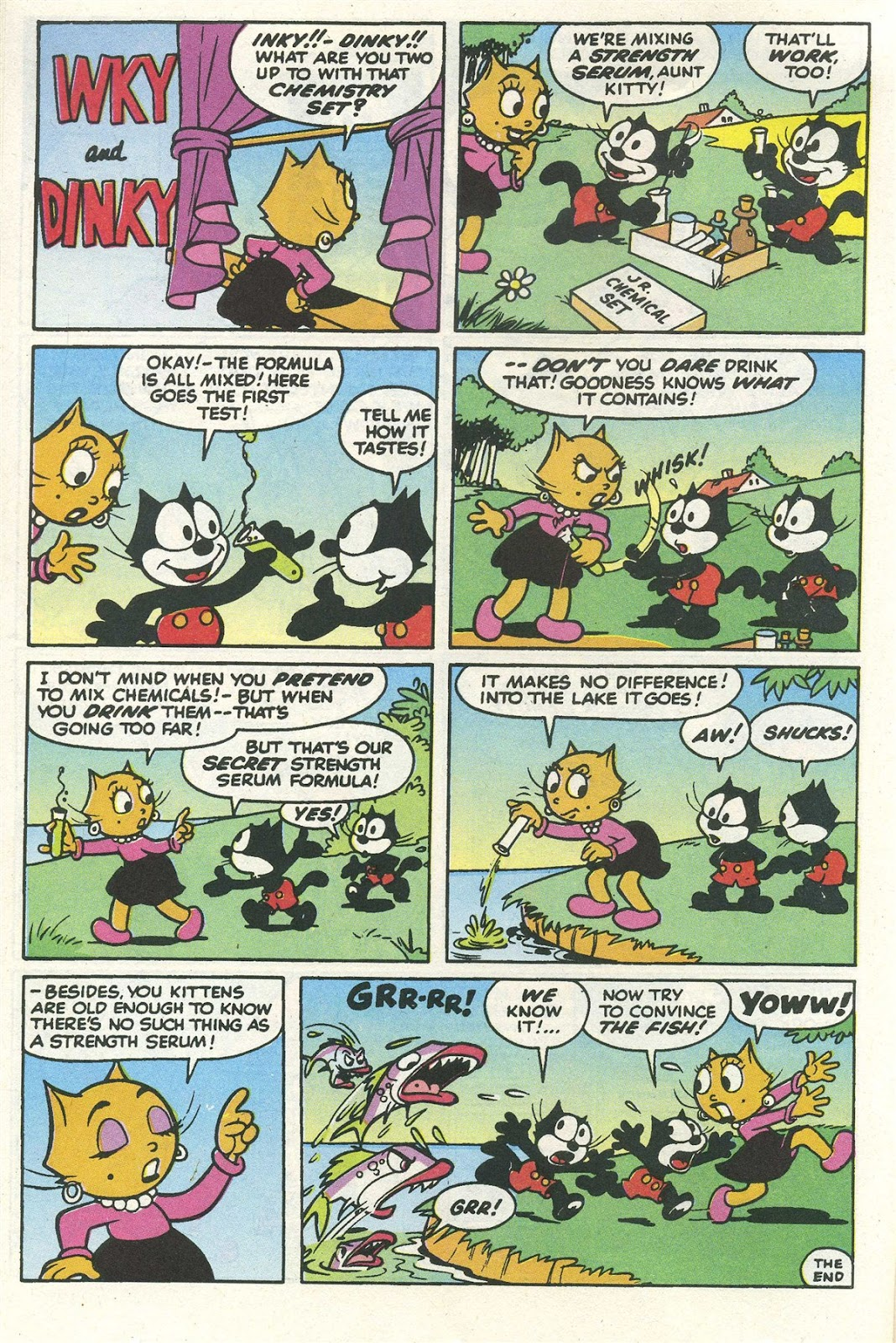 Read online Felix the Cat comic -  Issue #7 - 31