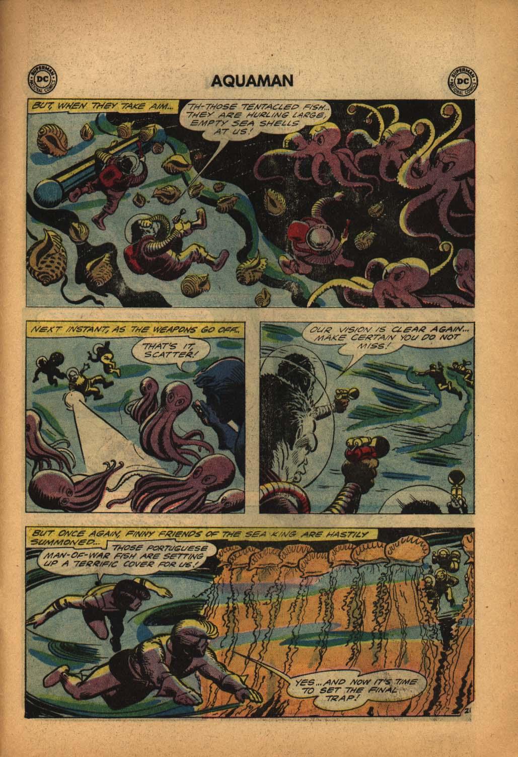Read online Aquaman (1962) comic -  Issue #4 - 29
