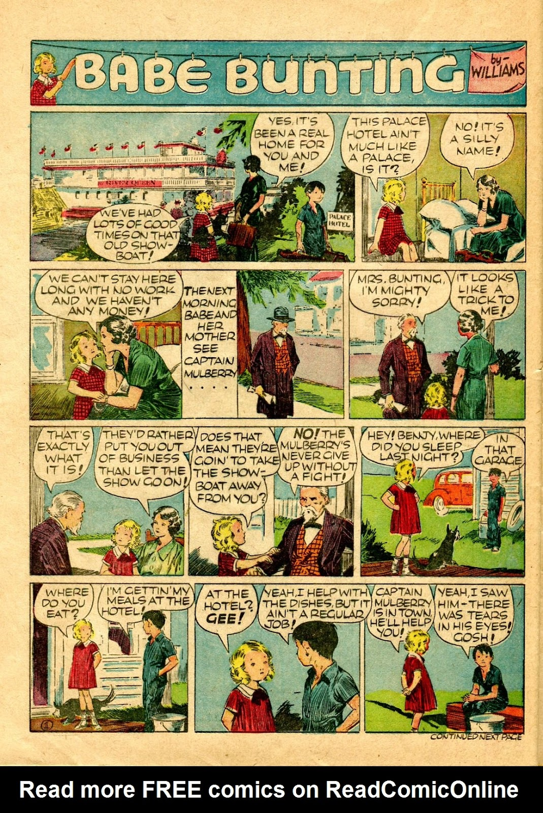 Read online Famous Funnies comic -  Issue #64 - 53