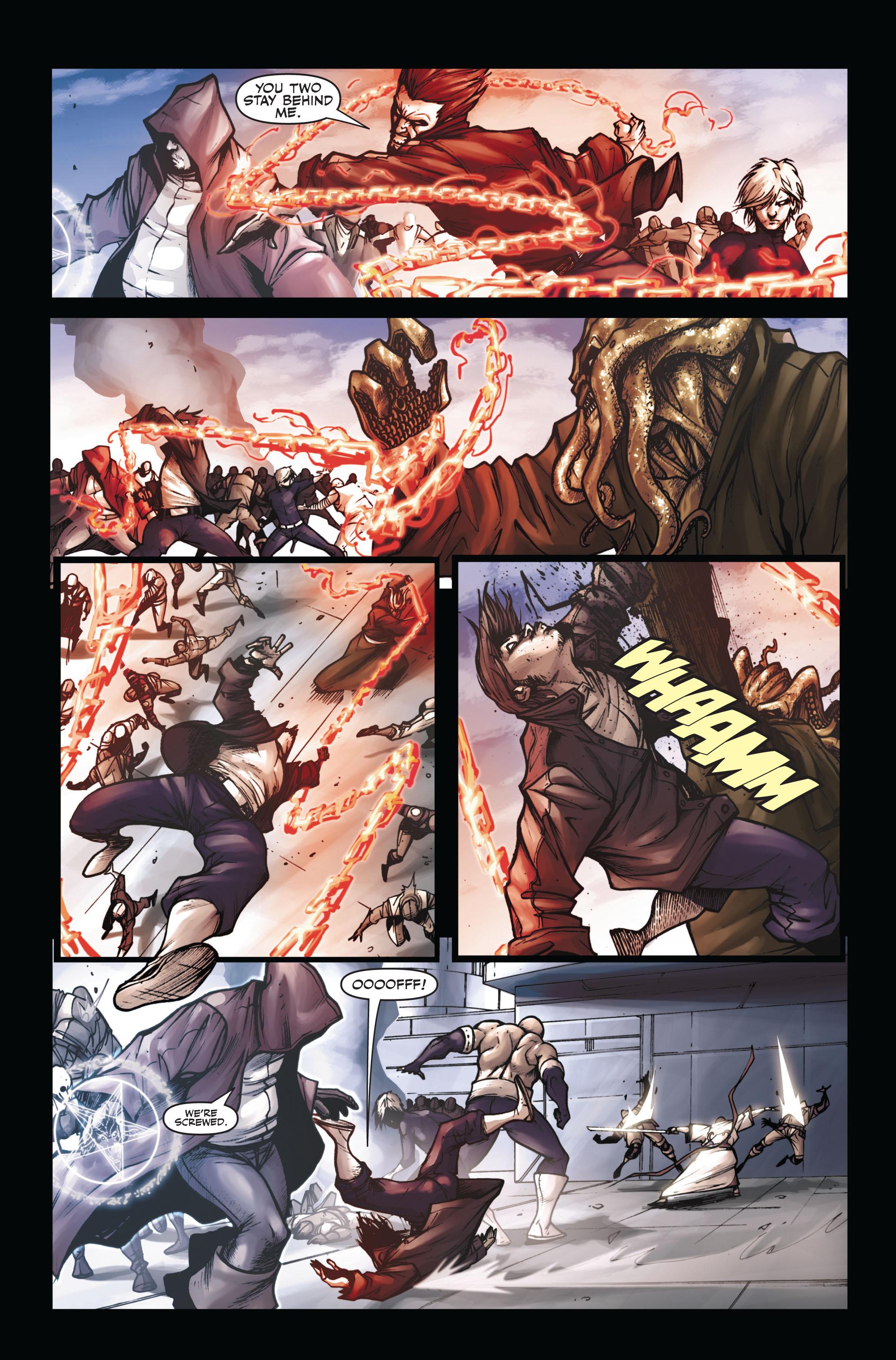Read online Secret Warriors comic -  Issue #6 - 7