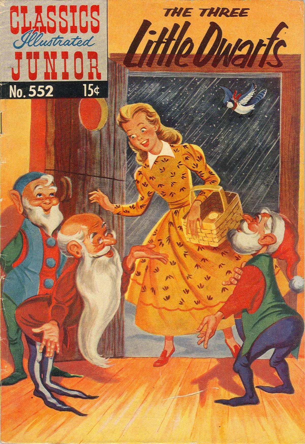 Classics Illustrated Junior 552 Page 1