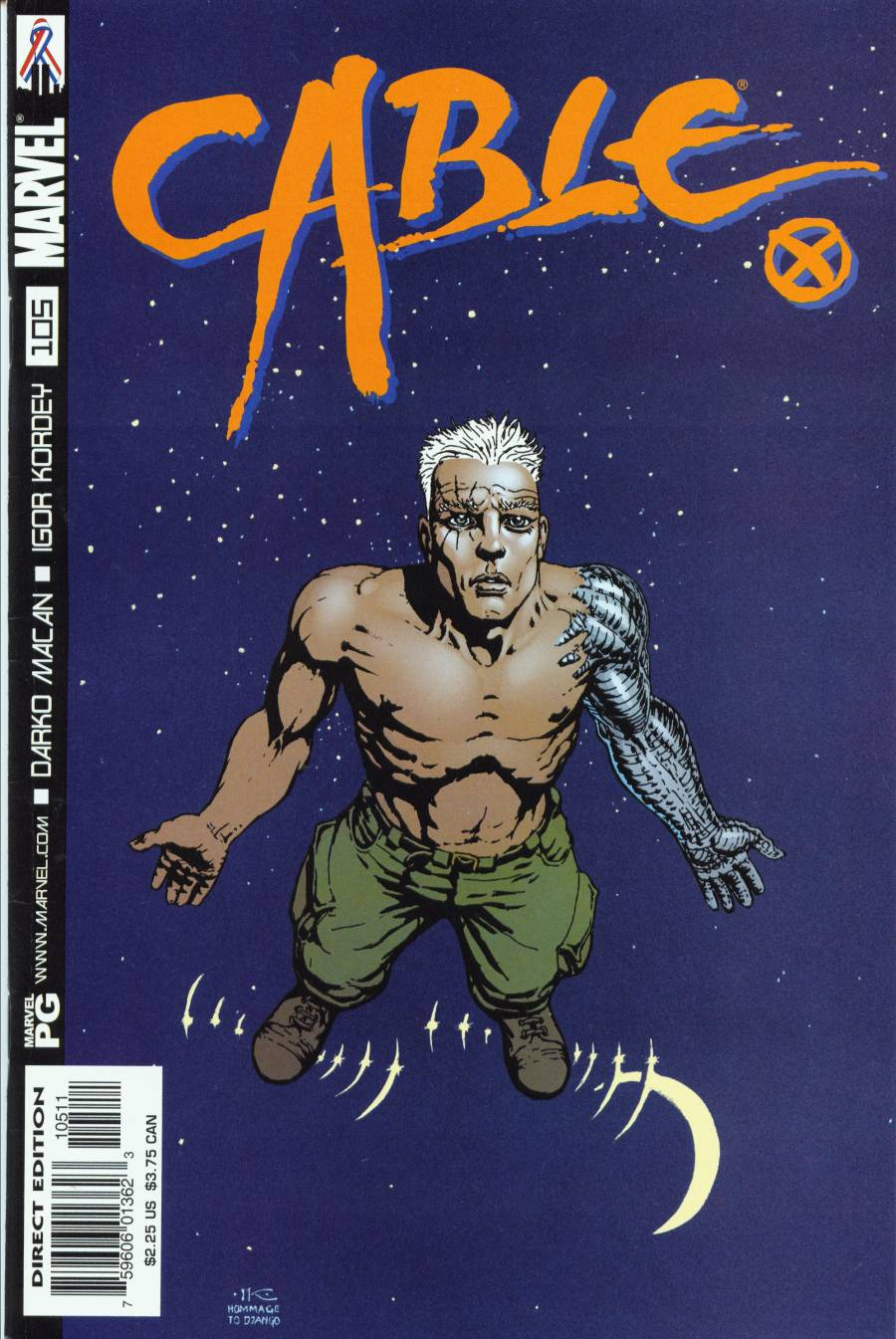 Cable (1993) 105 Page 1