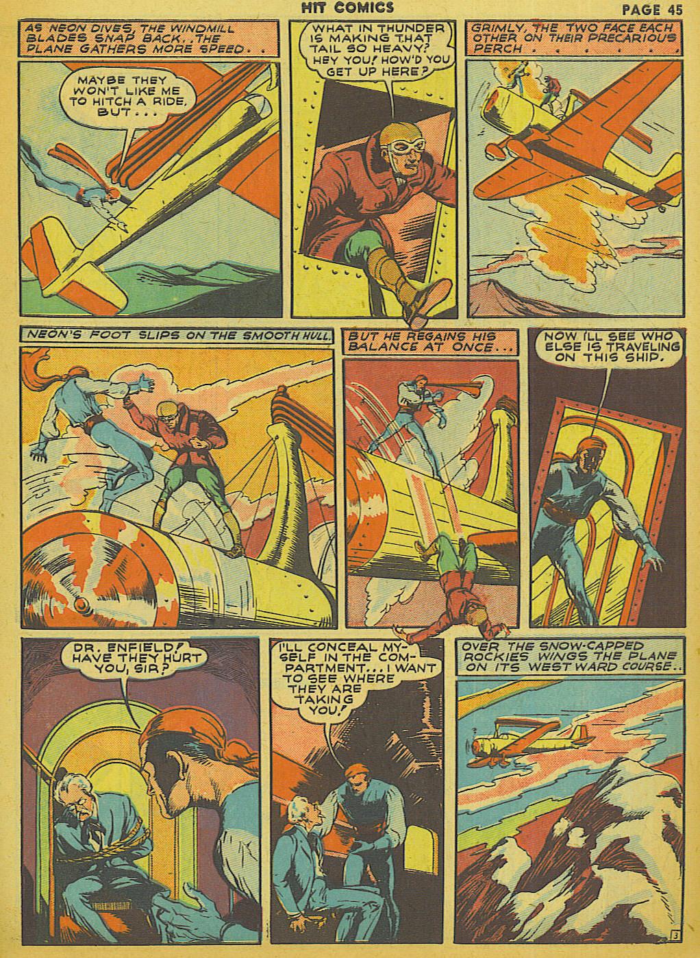 Read online Hit Comics comic -  Issue #13 - 47