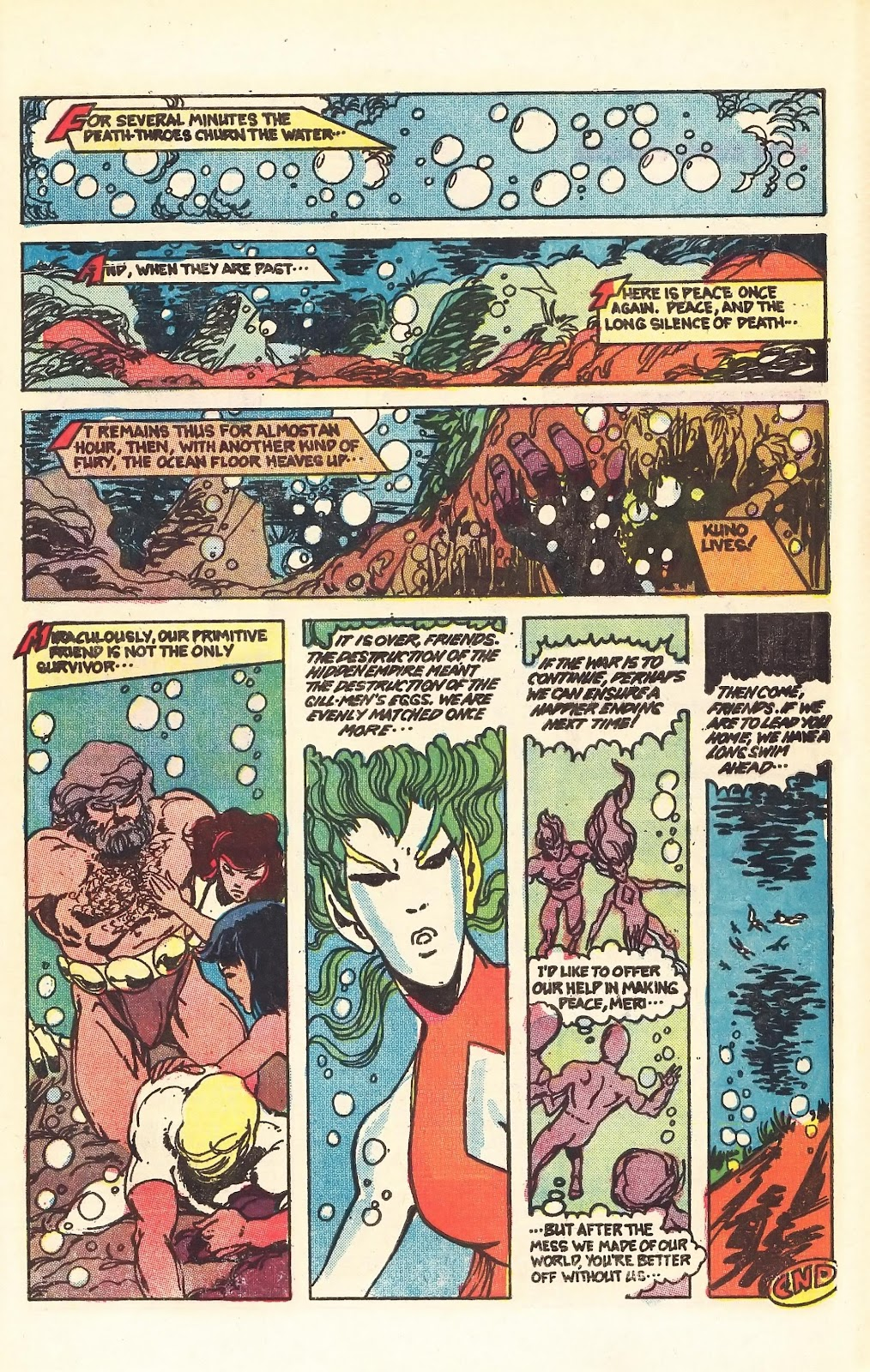 Read online Doomsday   1 (1975) comic -  Issue #4 - 28