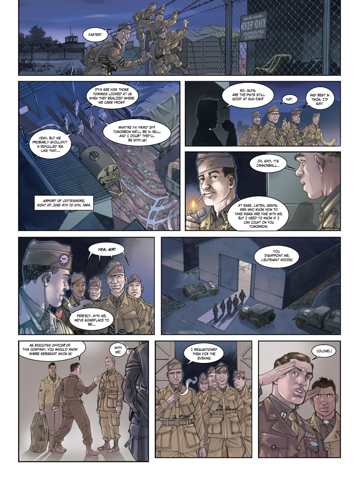 Read online Opération Overlord comic -  Issue #1 - 5