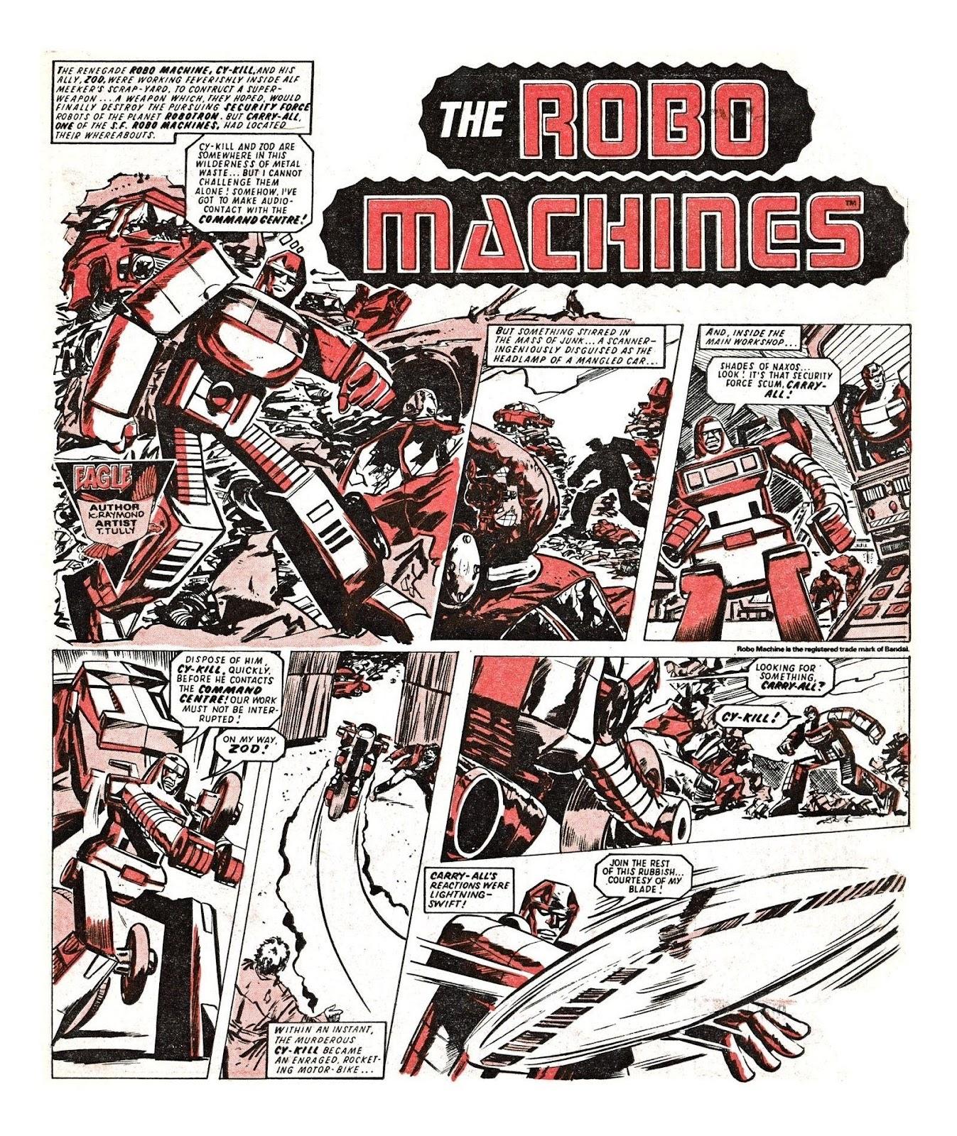 Read online Robo Machines comic -  Issue # TPB - 85