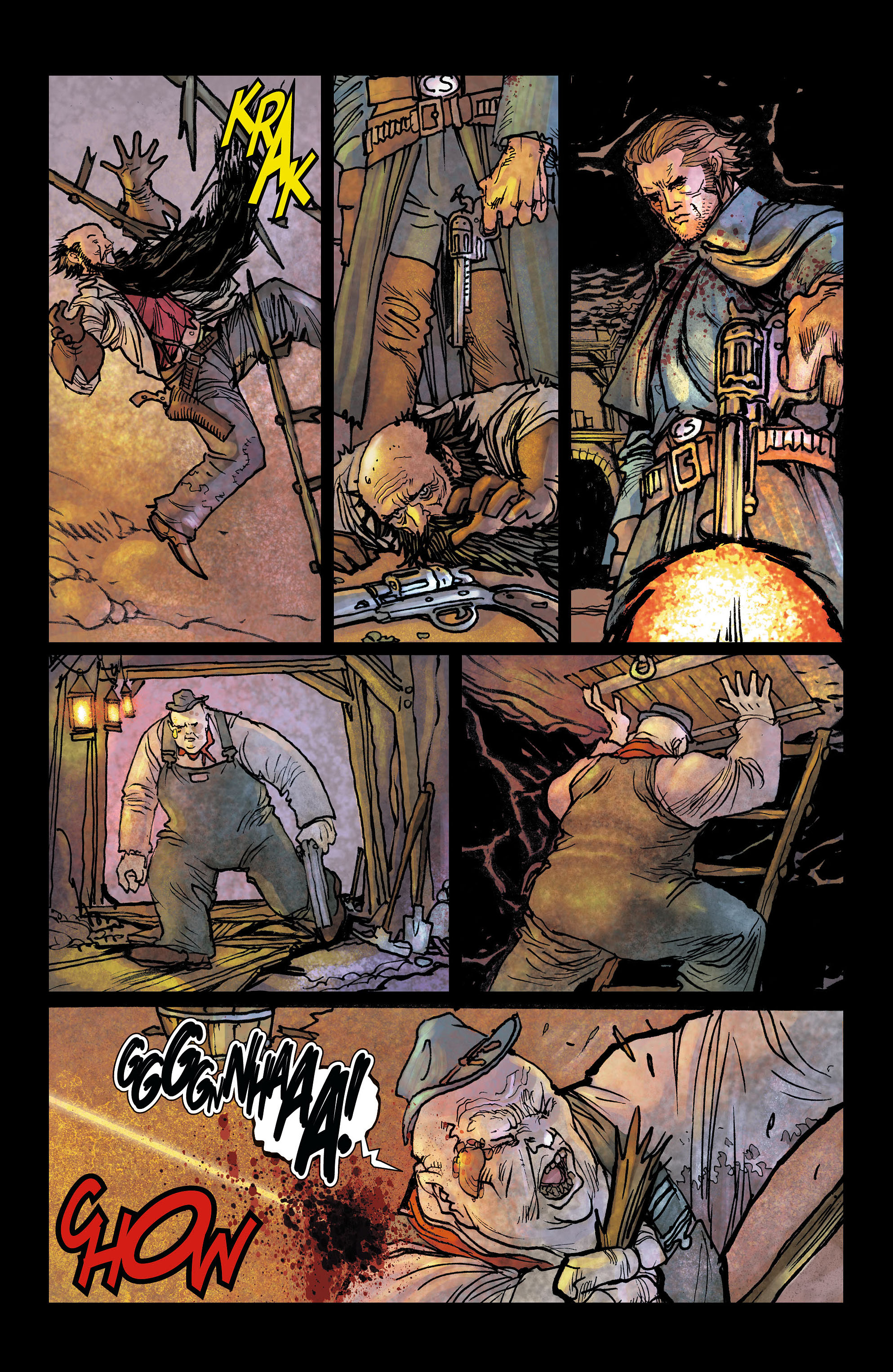 Read online All-Star Western (2011) comic -  Issue #6 - 12
