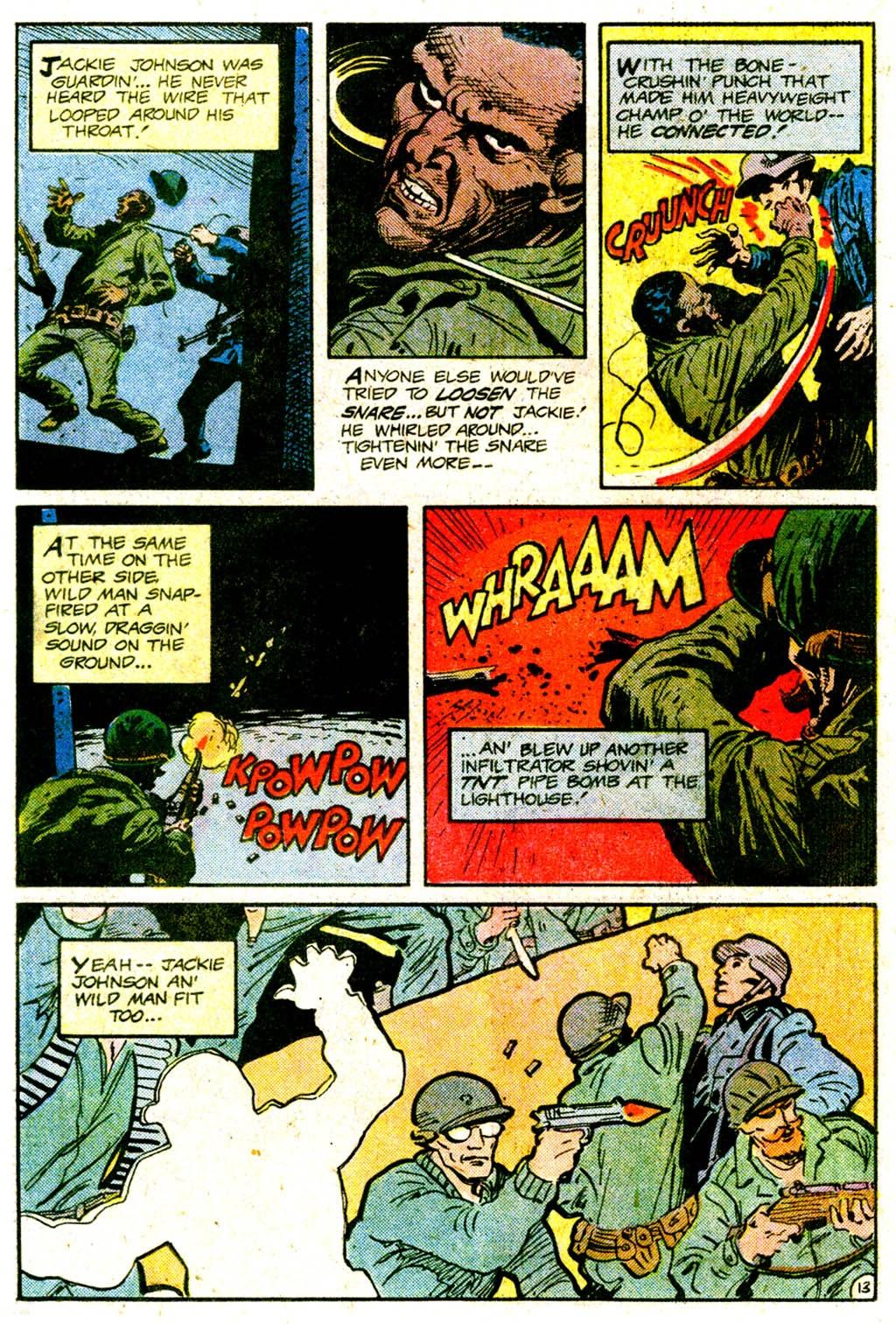 Read online Sgt. Rock comic -  Issue #365 - 17