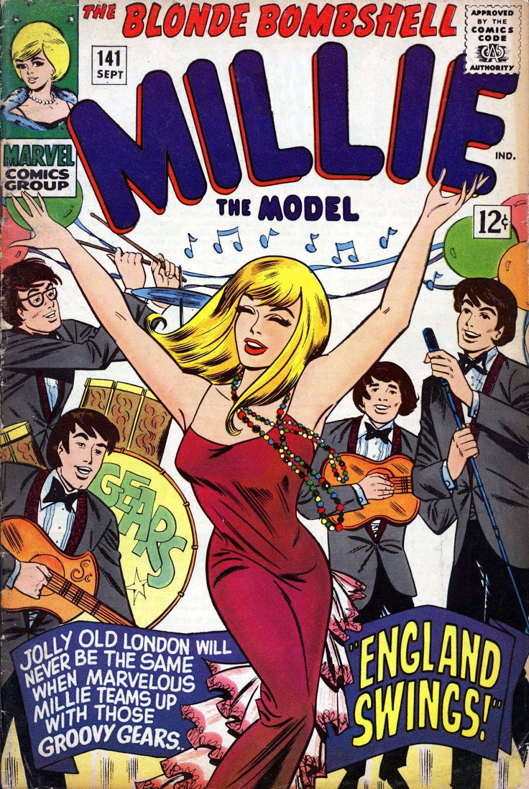 Millie the Model issue 141 - Page 1