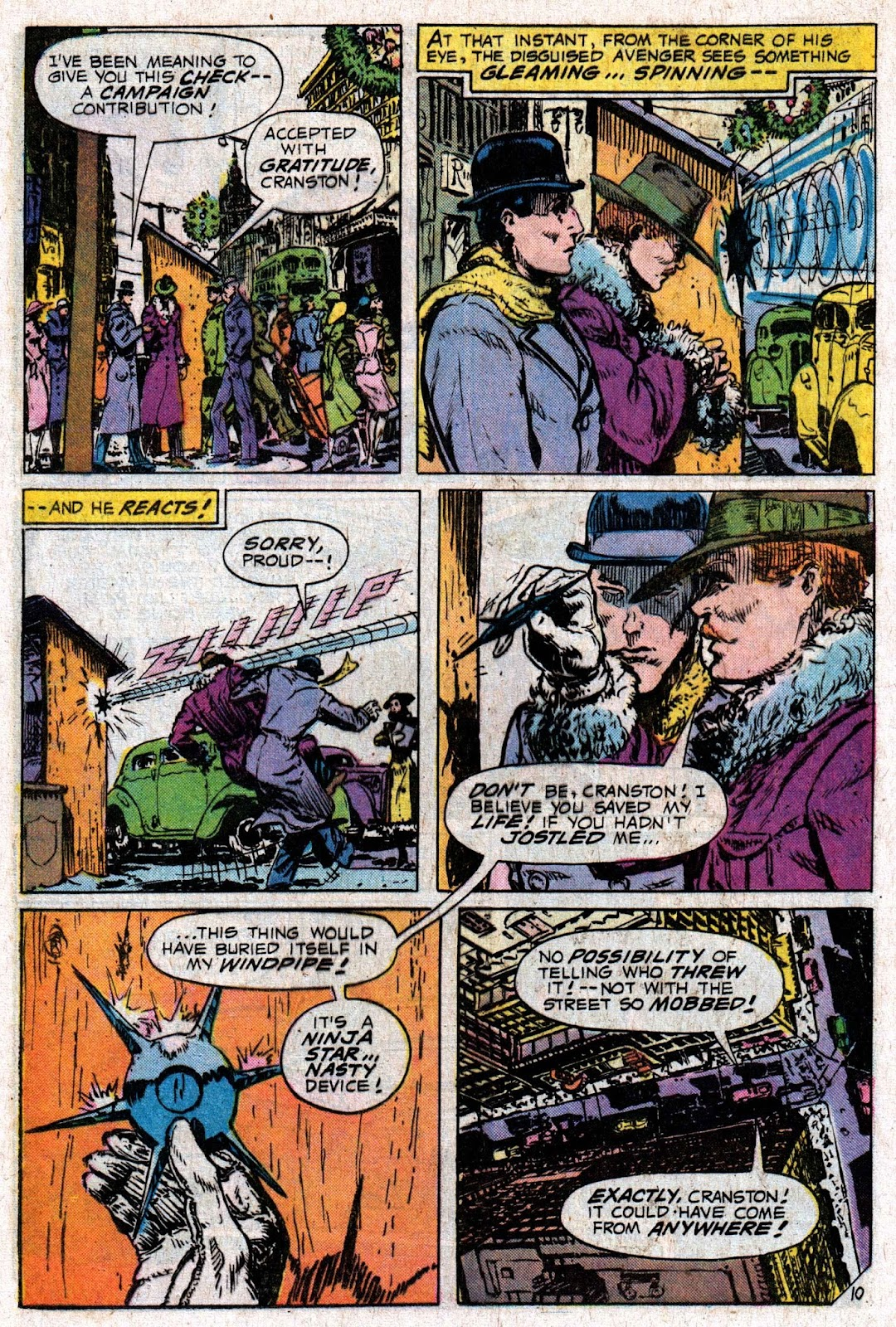 The Shadow (1973) issue 6 - Page 16