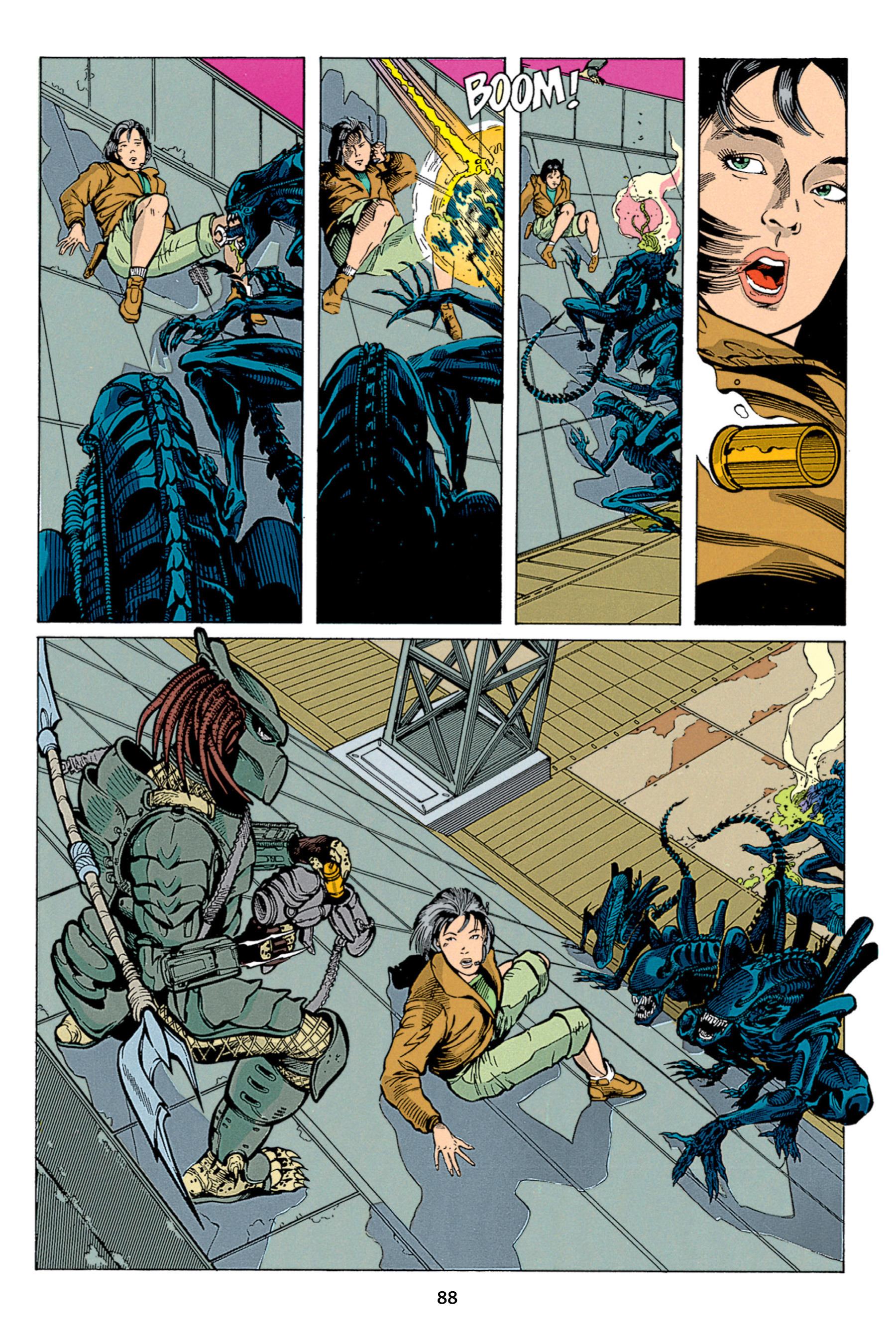 Read online Aliens vs. Predator Omnibus comic -  Issue # _TPB 1 Part 1 - 88