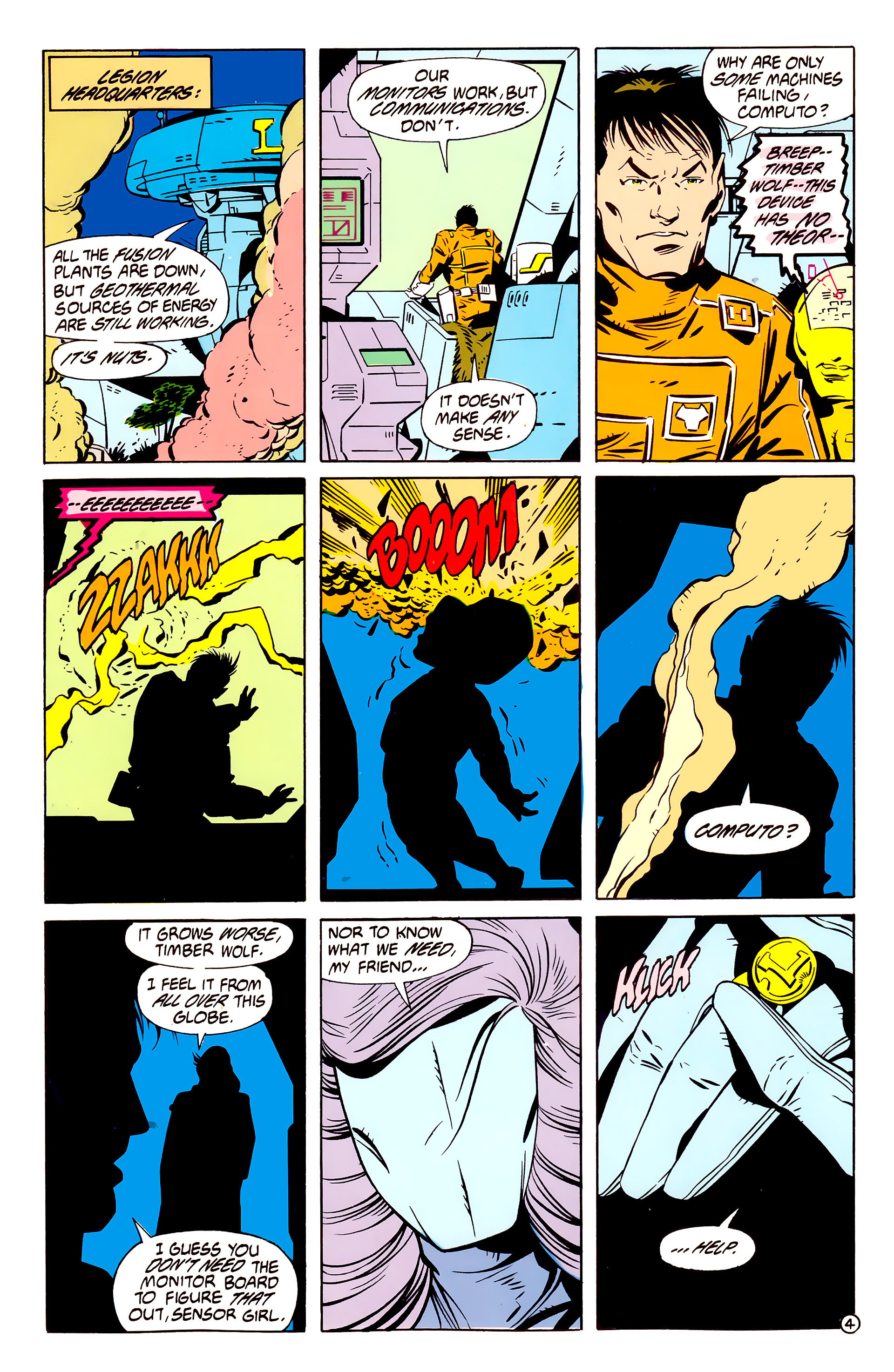 Legion of Super-Heroes (1984) 61 Page 4