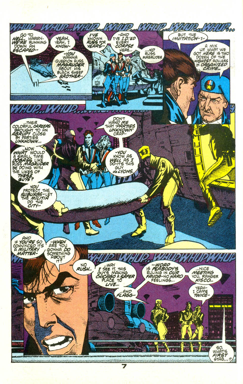 Read online American Flagg! comic -  Issue #21 - 10