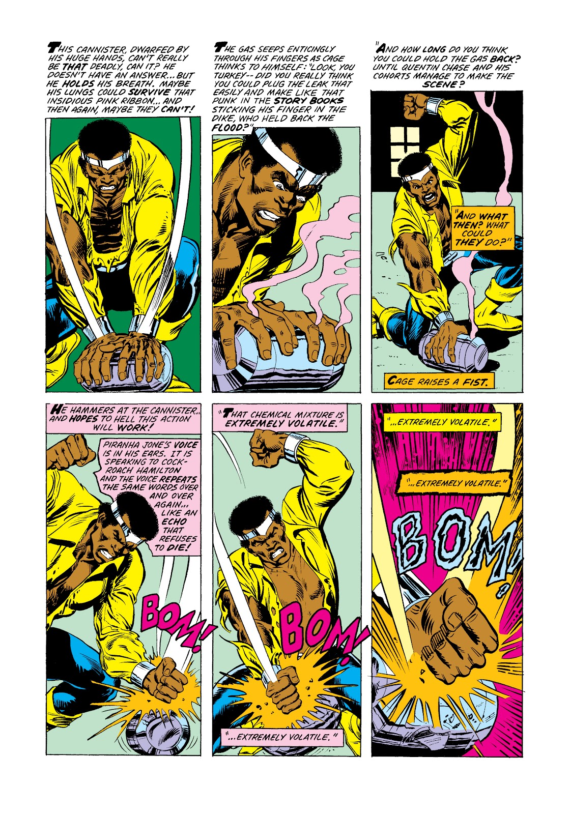 Read online Marvel Masterworks: Luke Cage, Power Man comic -  Issue # TPB 2 (Part 3) - 81