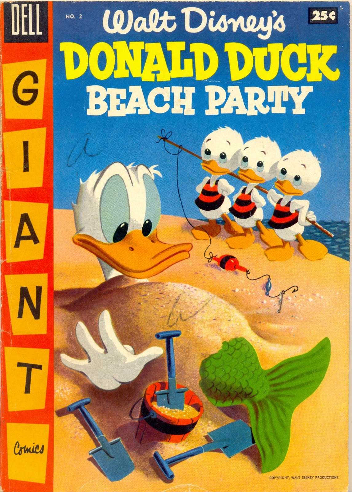 Donald Duck Beach Party issue 2 - Page 1