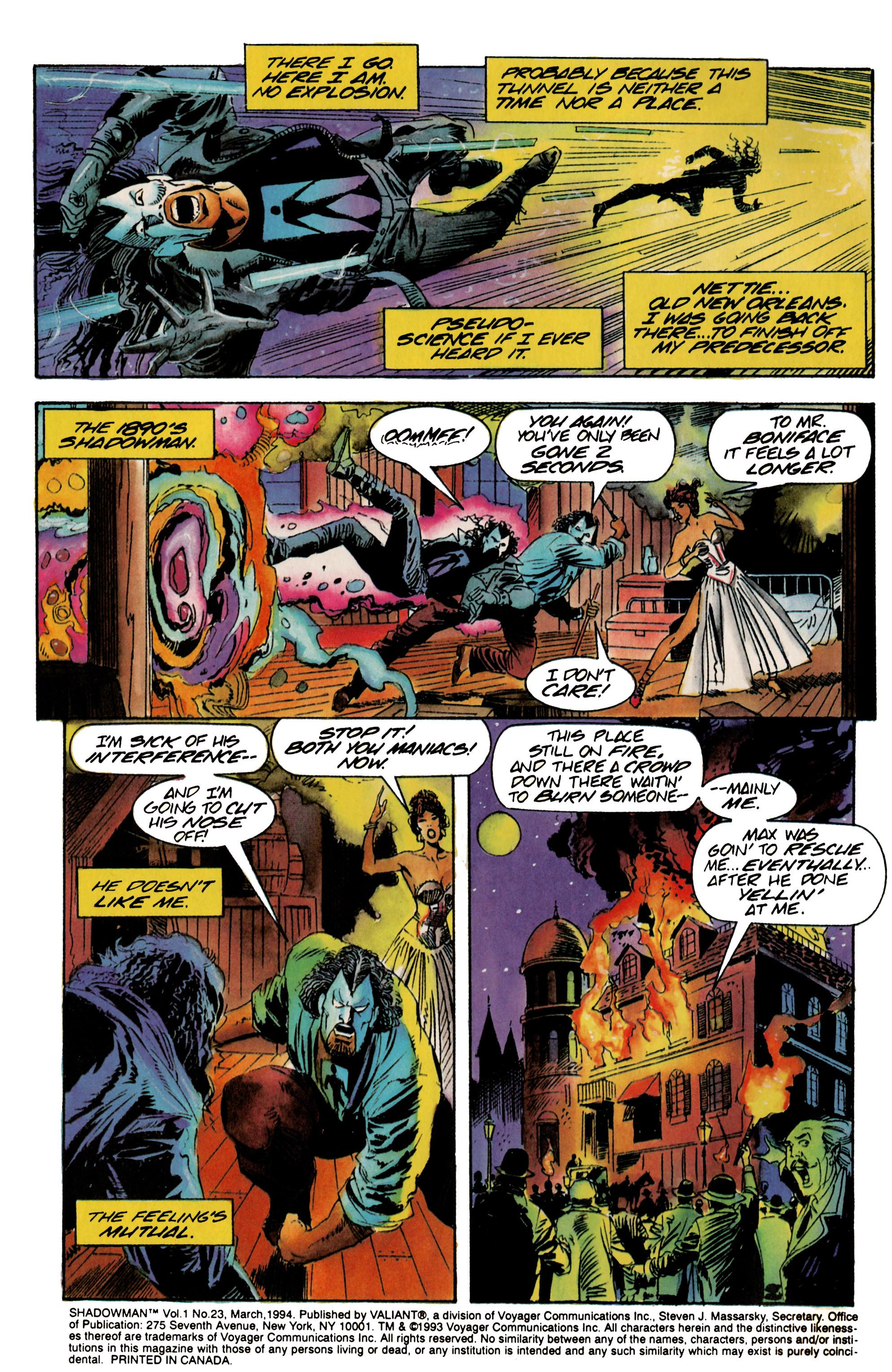 Read online Shadowman (1992) comic -  Issue #23 - 3