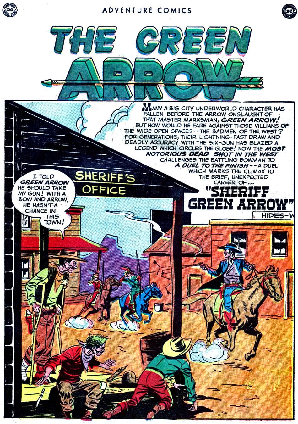 Read online Adventure Comics (1938) comic -  Issue #163 - 39