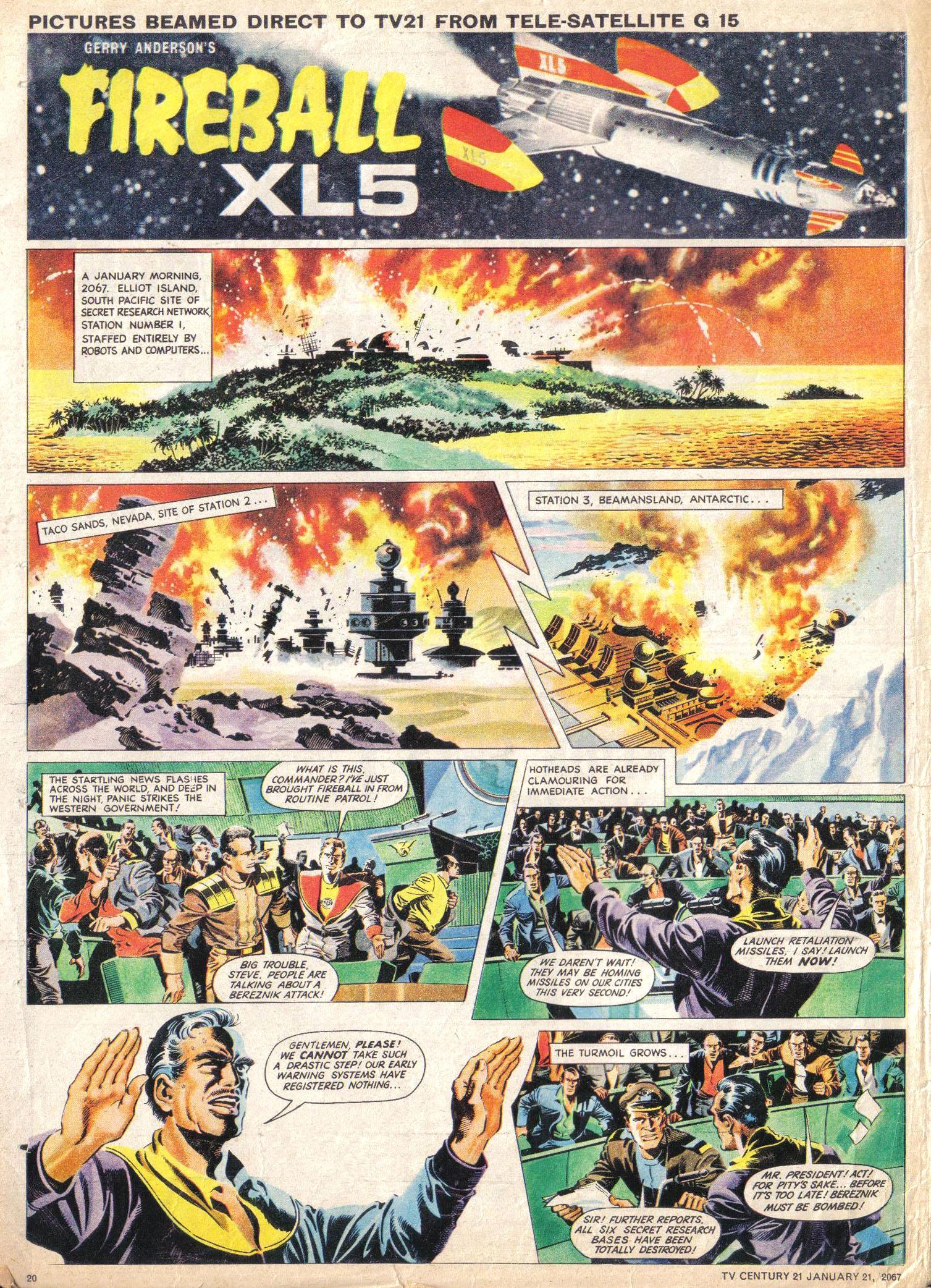 Read online TV Century 21 (TV 21) comic -  Issue #105 - 19