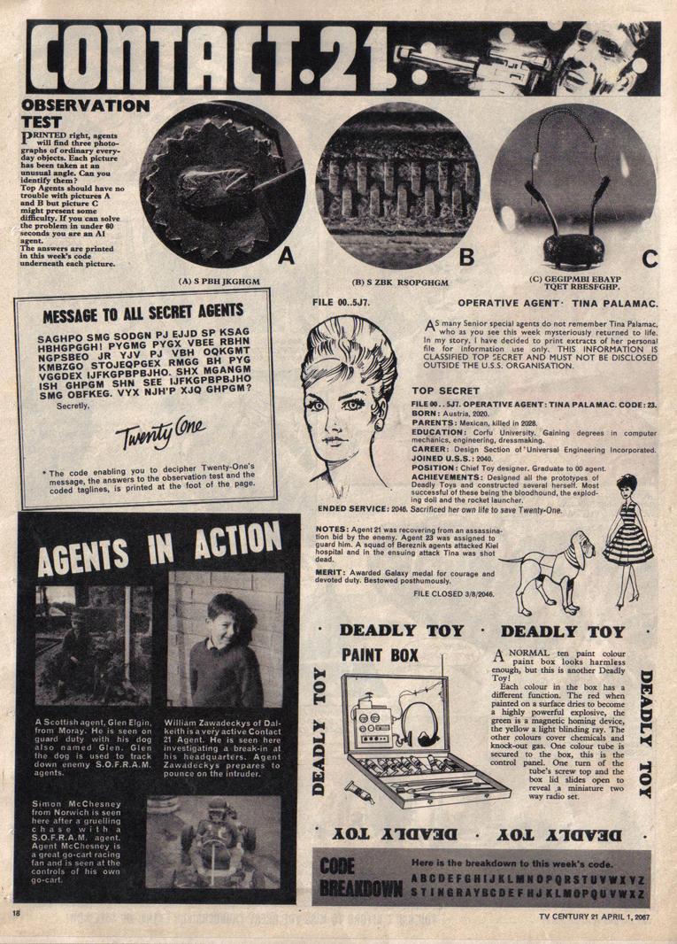 TV Century 21 (TV 21) issue 115 - Page 17