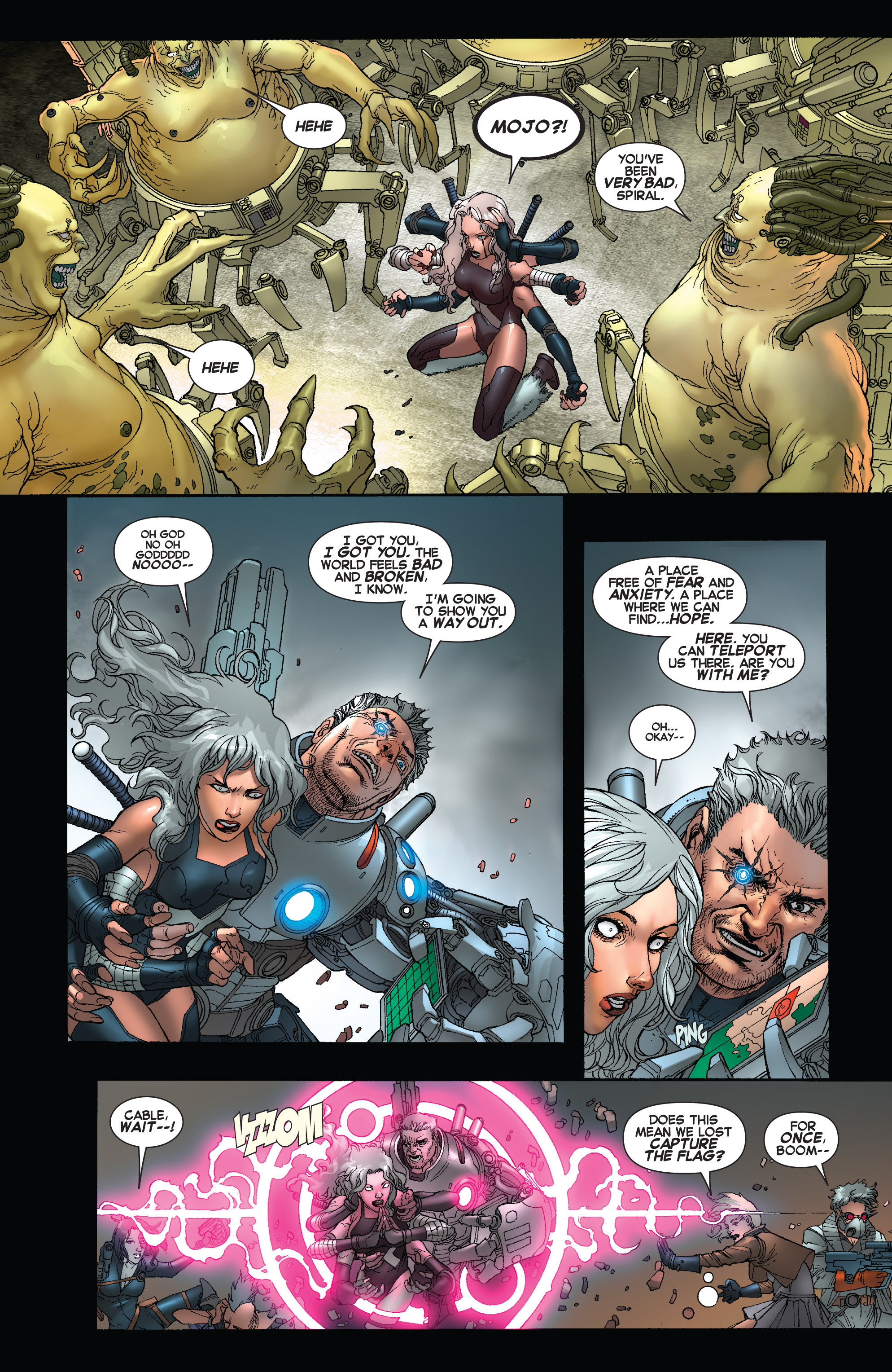 Read online Uncanny X-Force (2013) comic -  Issue #16 - 21
