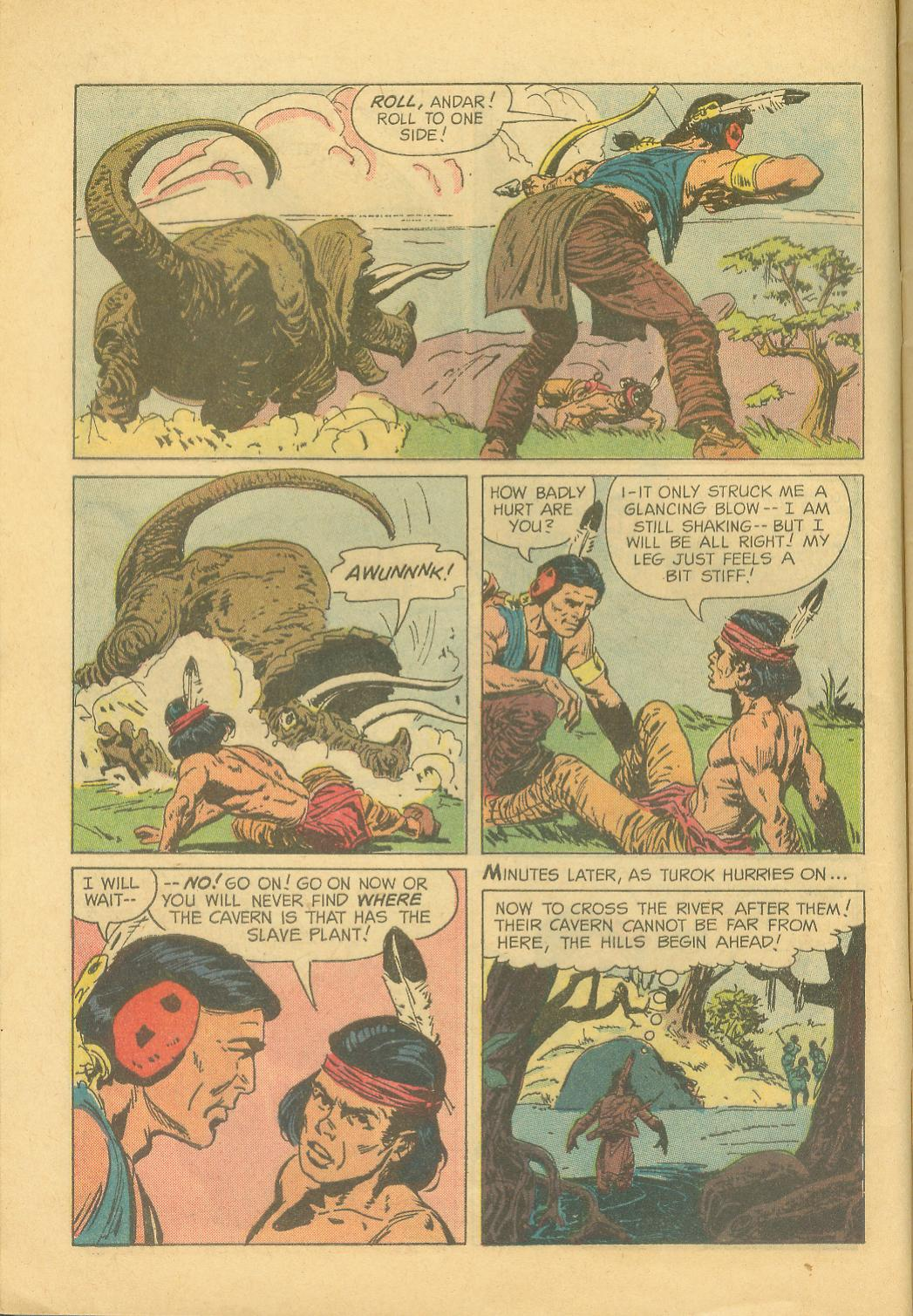 Read online Turok, Son of Stone comic -  Issue #28 - 8