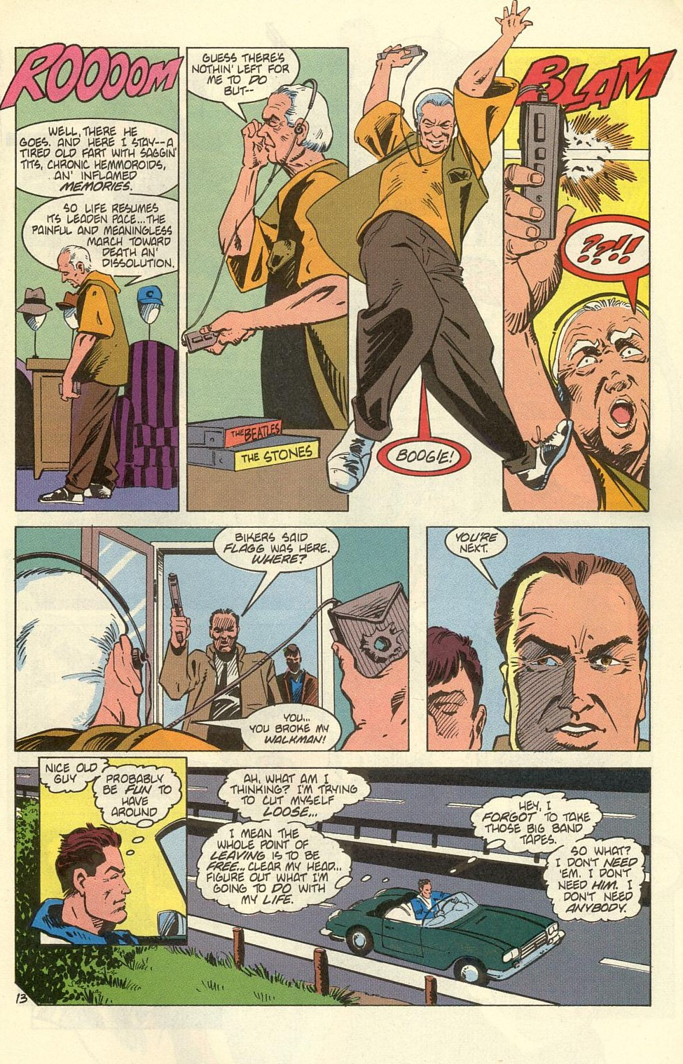 Read online American Flagg! comic -  Issue #39 - 17