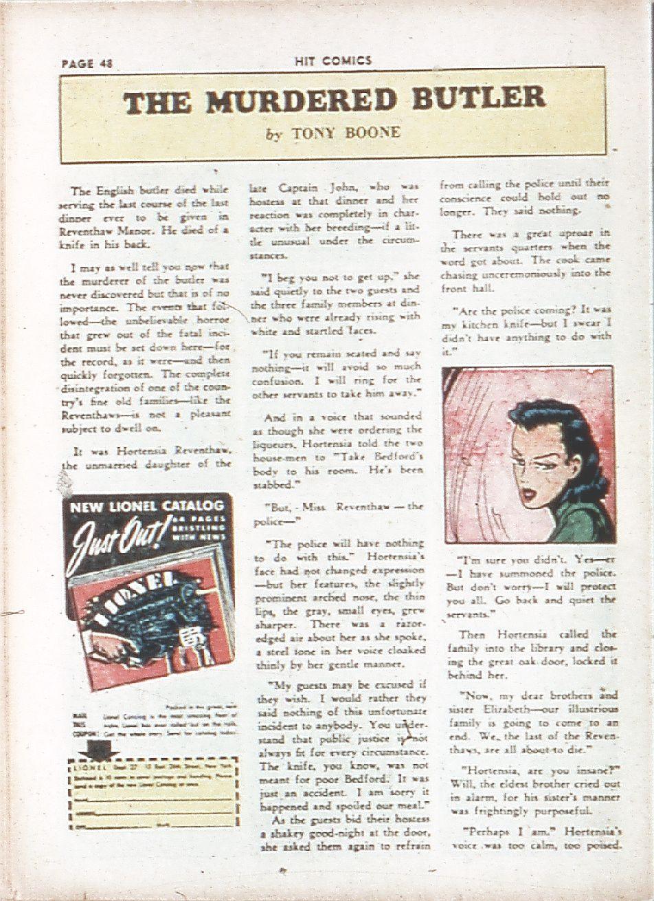 Read online Hit Comics comic -  Issue #7 - 50